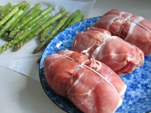 Prosciutto Wrapped Chicken Breast Stuffed with Goat Cheese