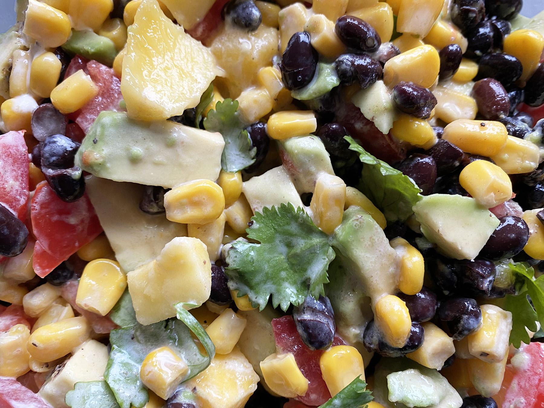 Cindy's Brilliant Bean Salad