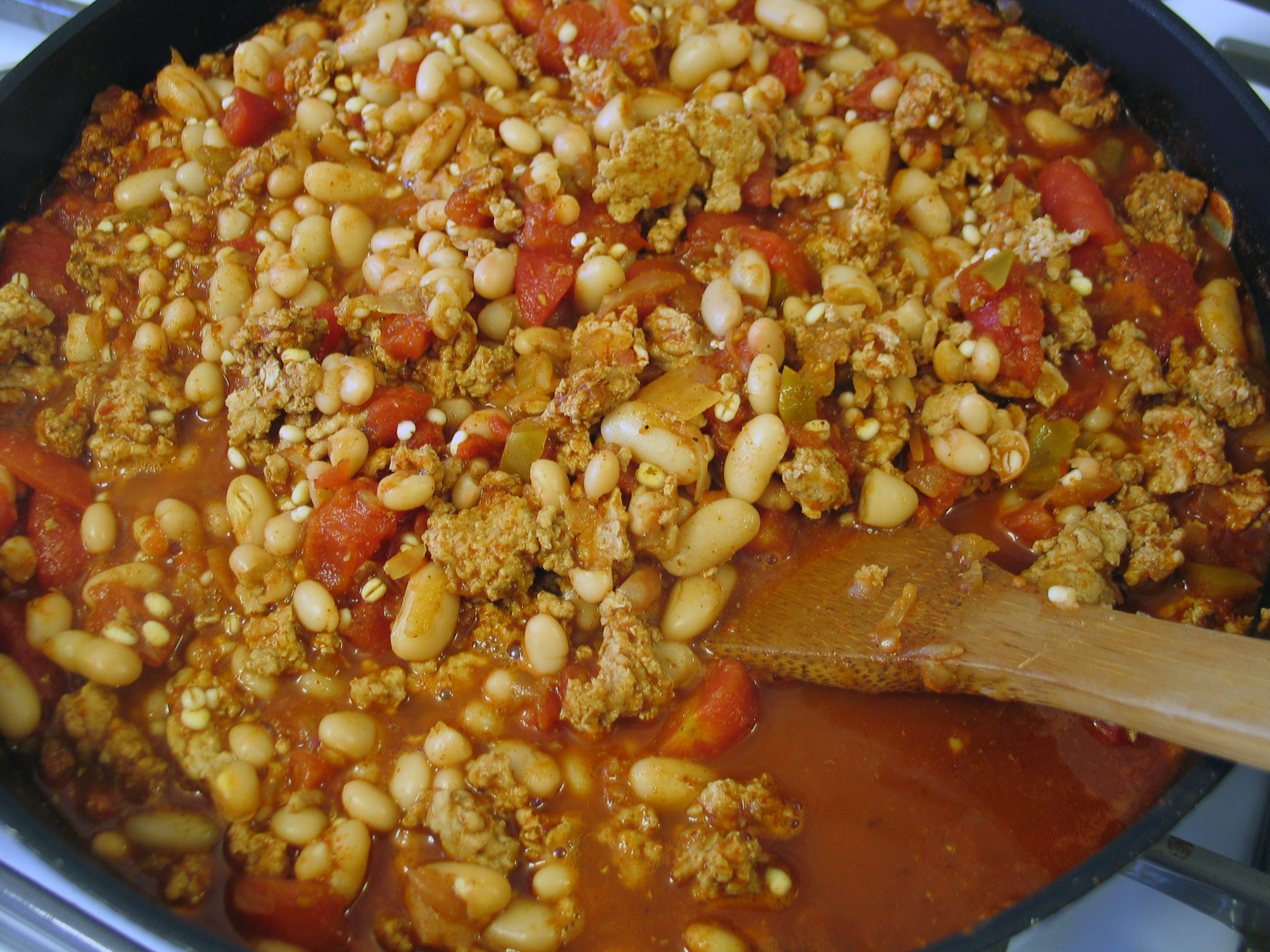 Turkey Chili with Barley