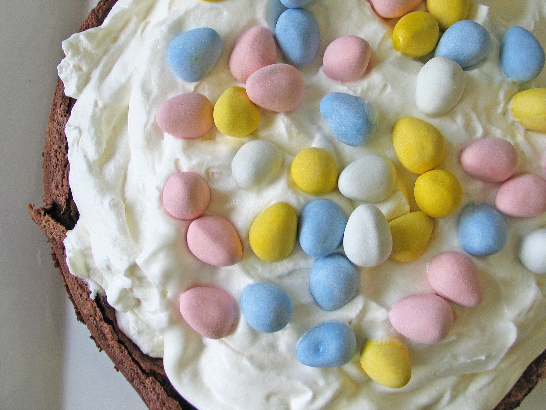 Chocolate Cloud Cake (for Easter)