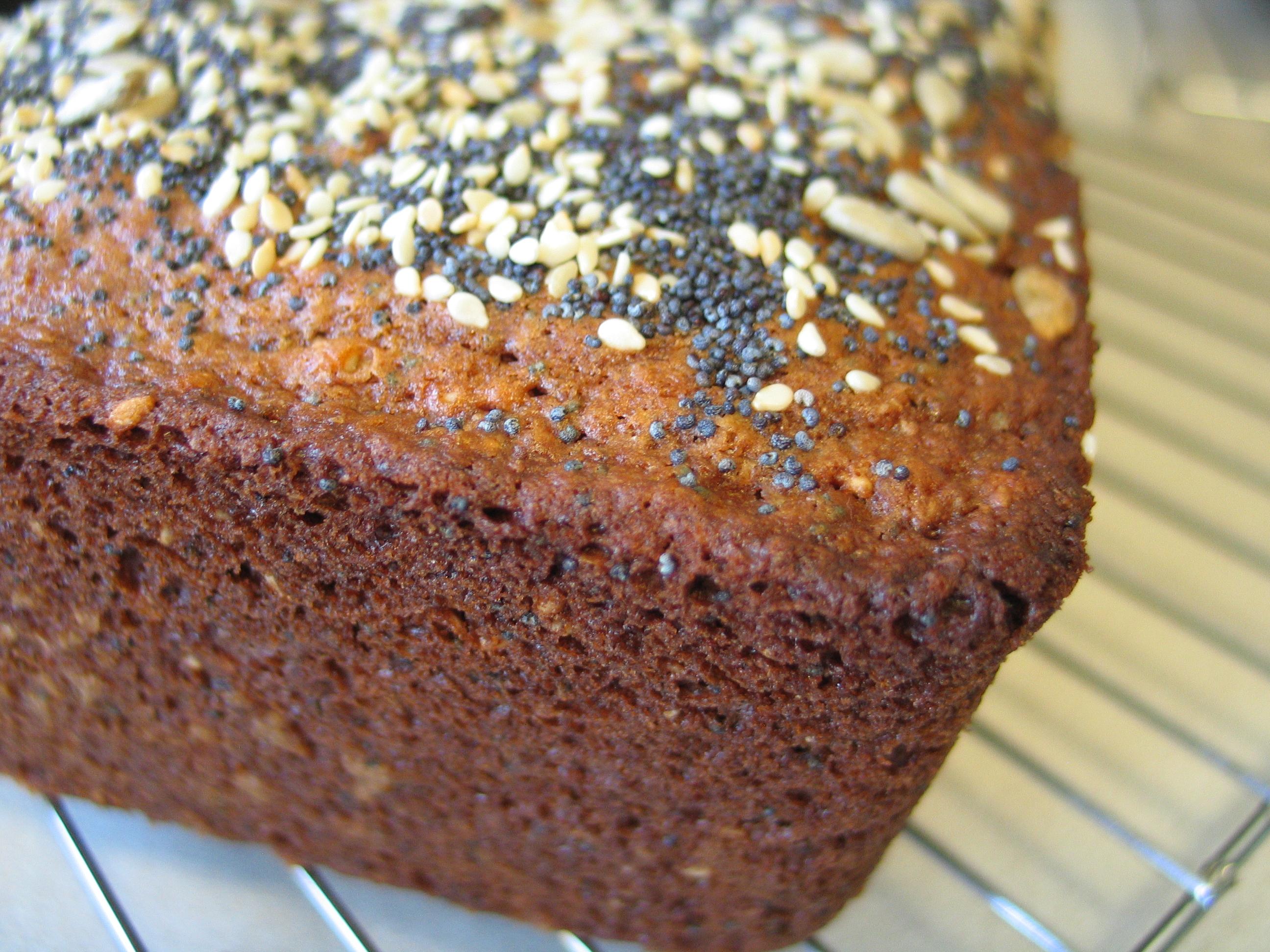 Multi-Seed Batter Bread