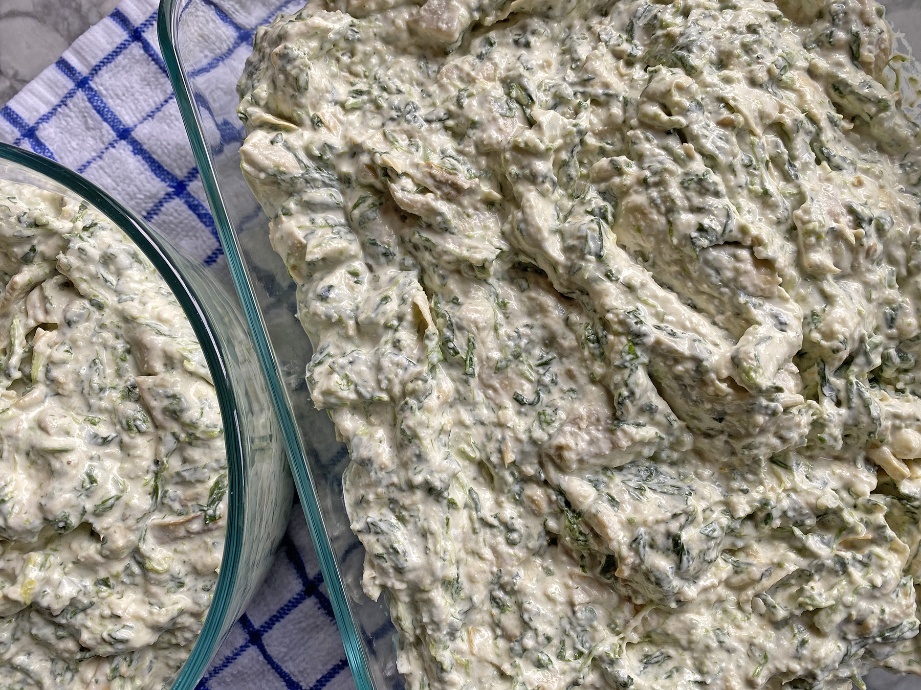Spinach Artichoke Dip (or just Artichoke!)