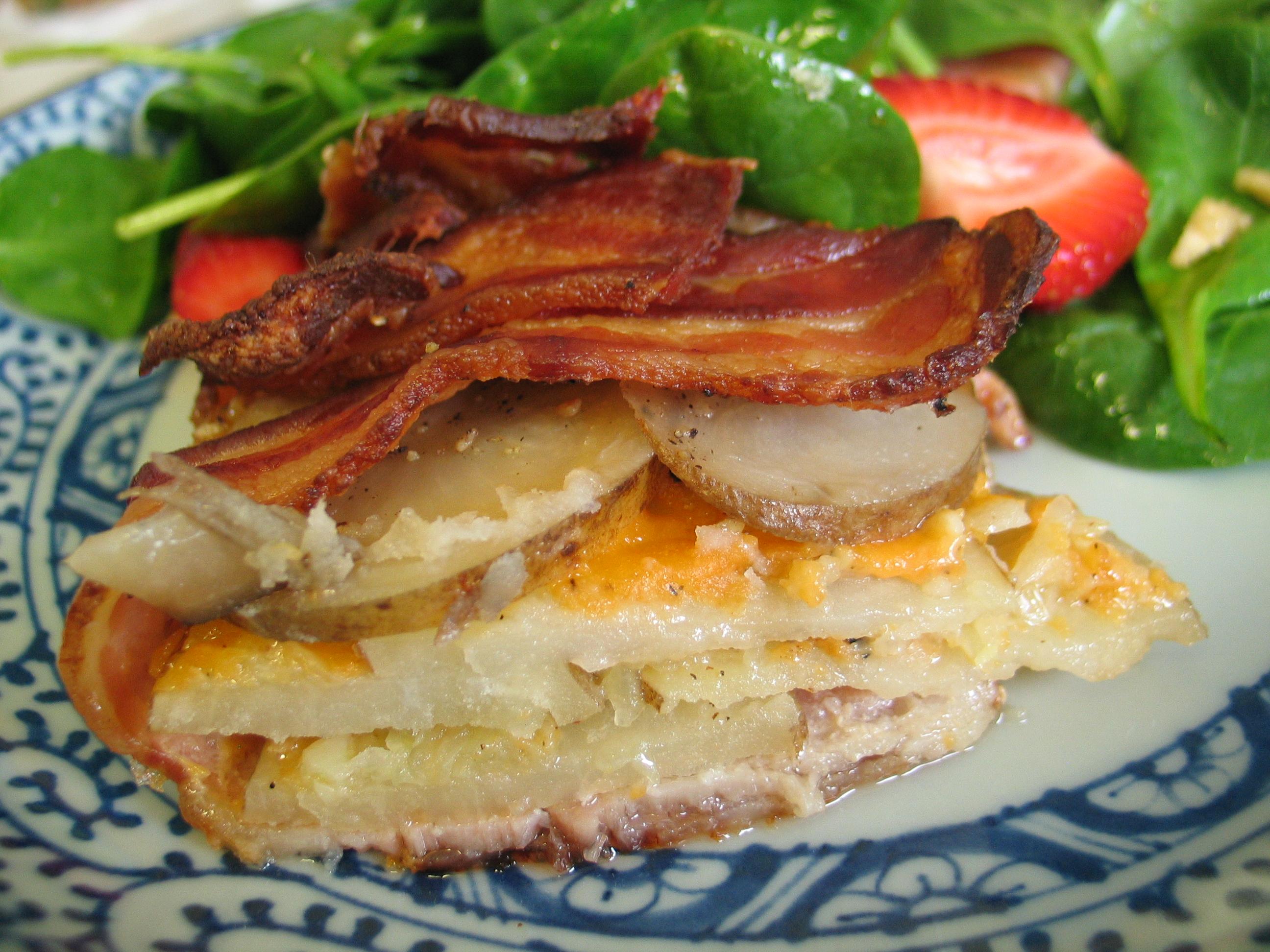 Bacon Potato Tart