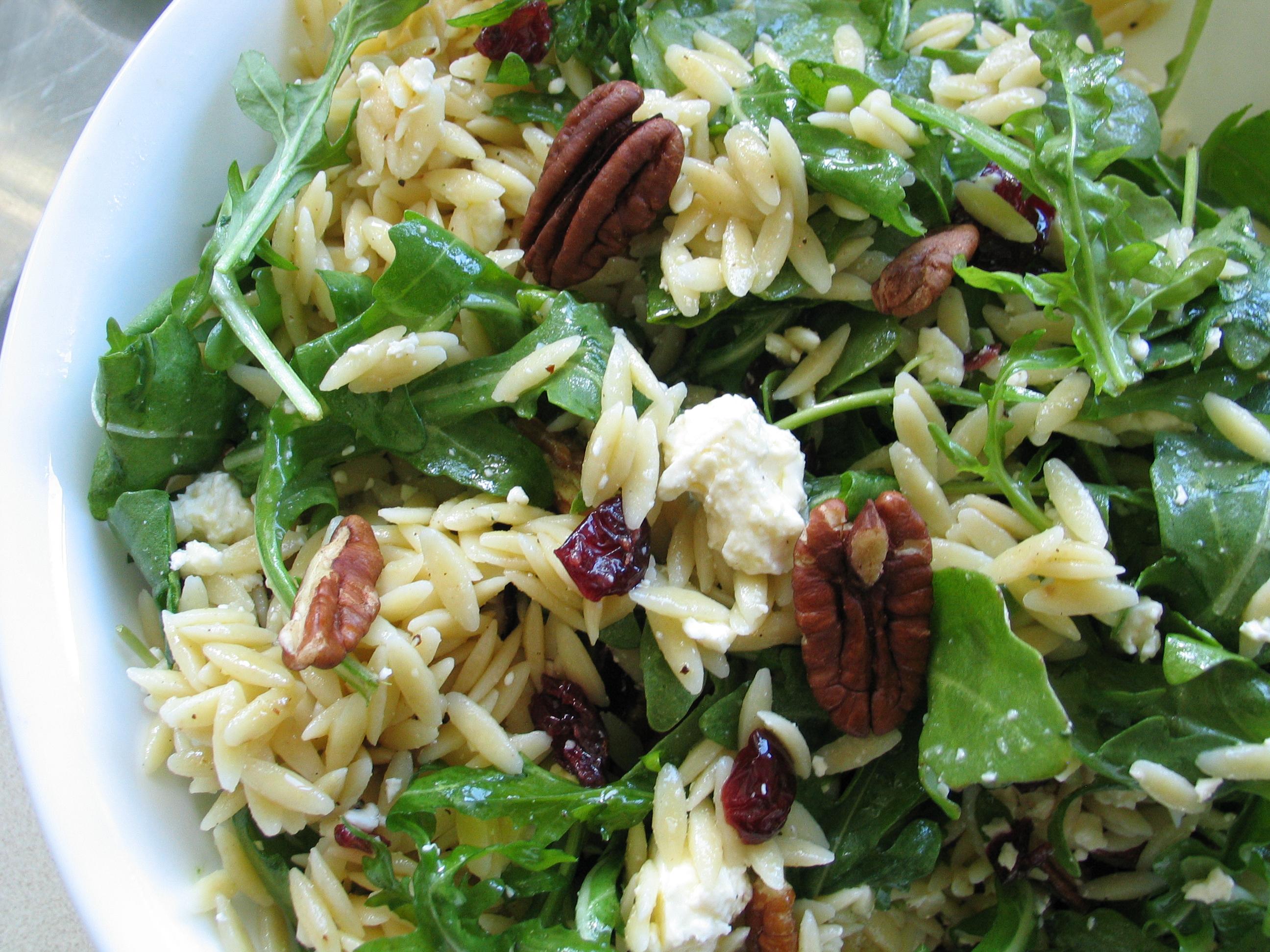 Arugula and Orzo Salad