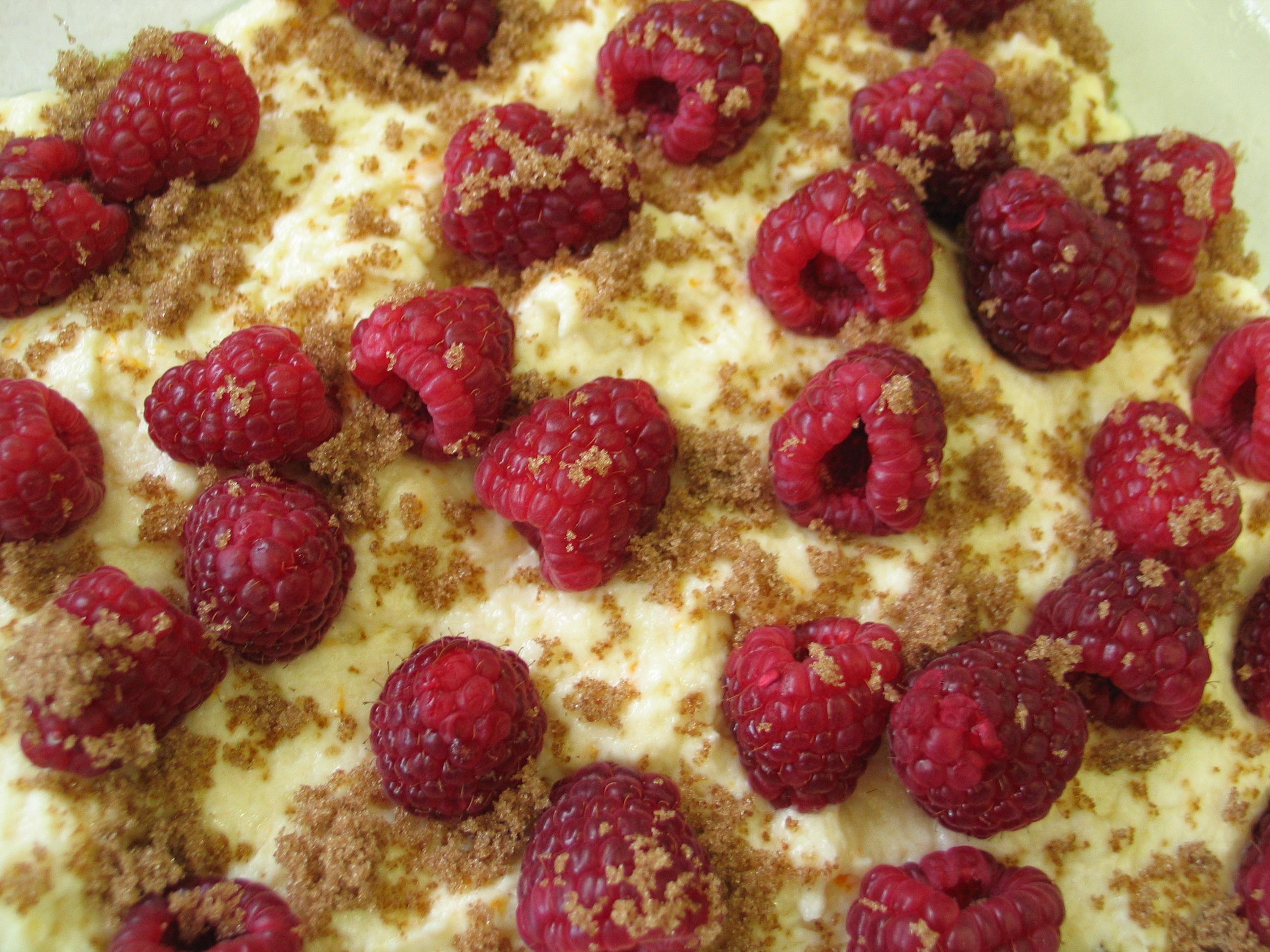 Almond (and Raspberry) Cake