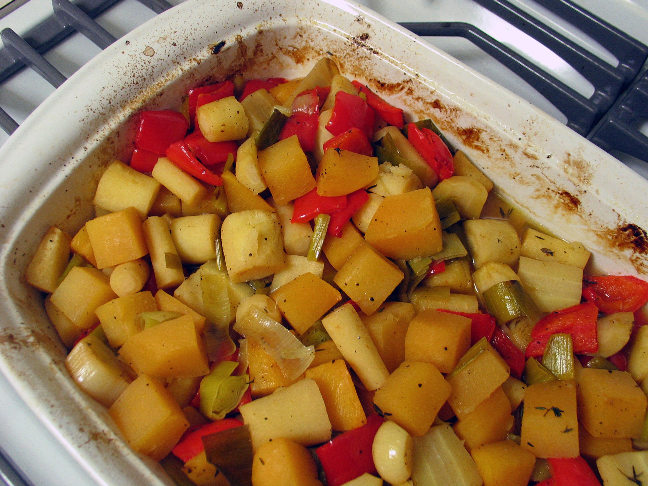 Cider-Glazed Roasted Vegetables