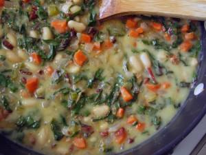 Pancetta, White Bean and Swiss Chard Pot Pies
