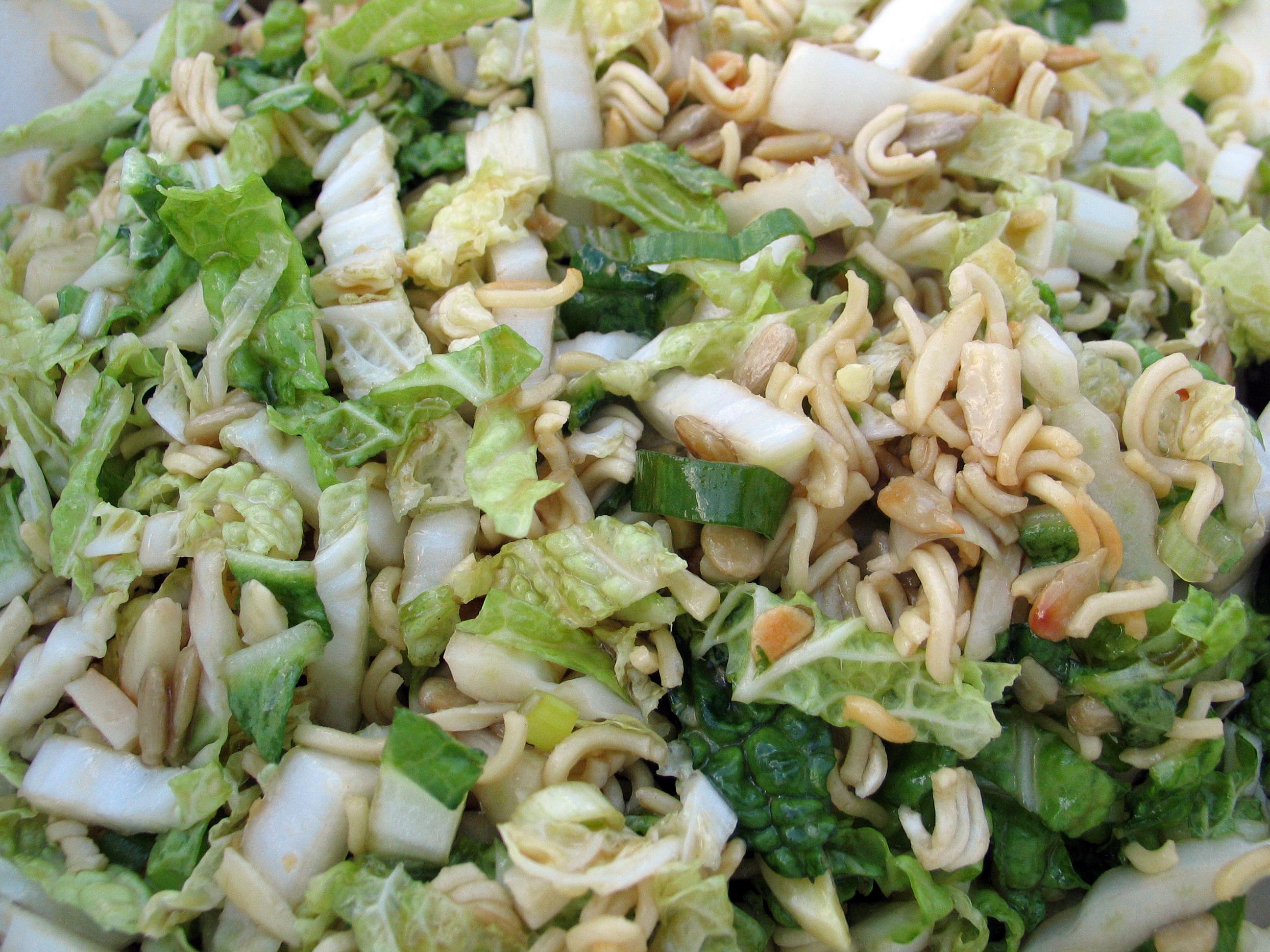 Napa Cabbage Ramen Salad