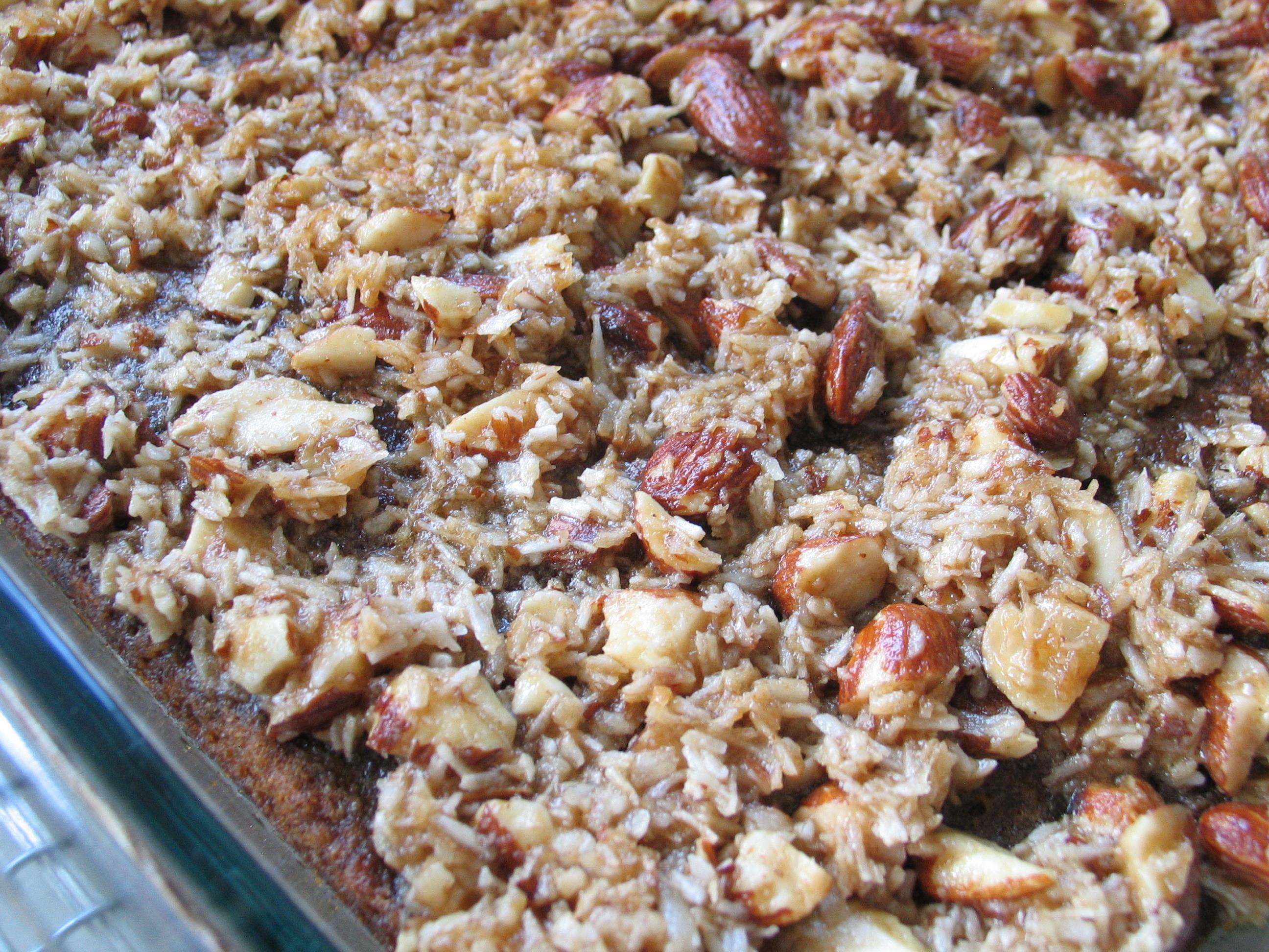 Oatmeal Cake – 9 x 13