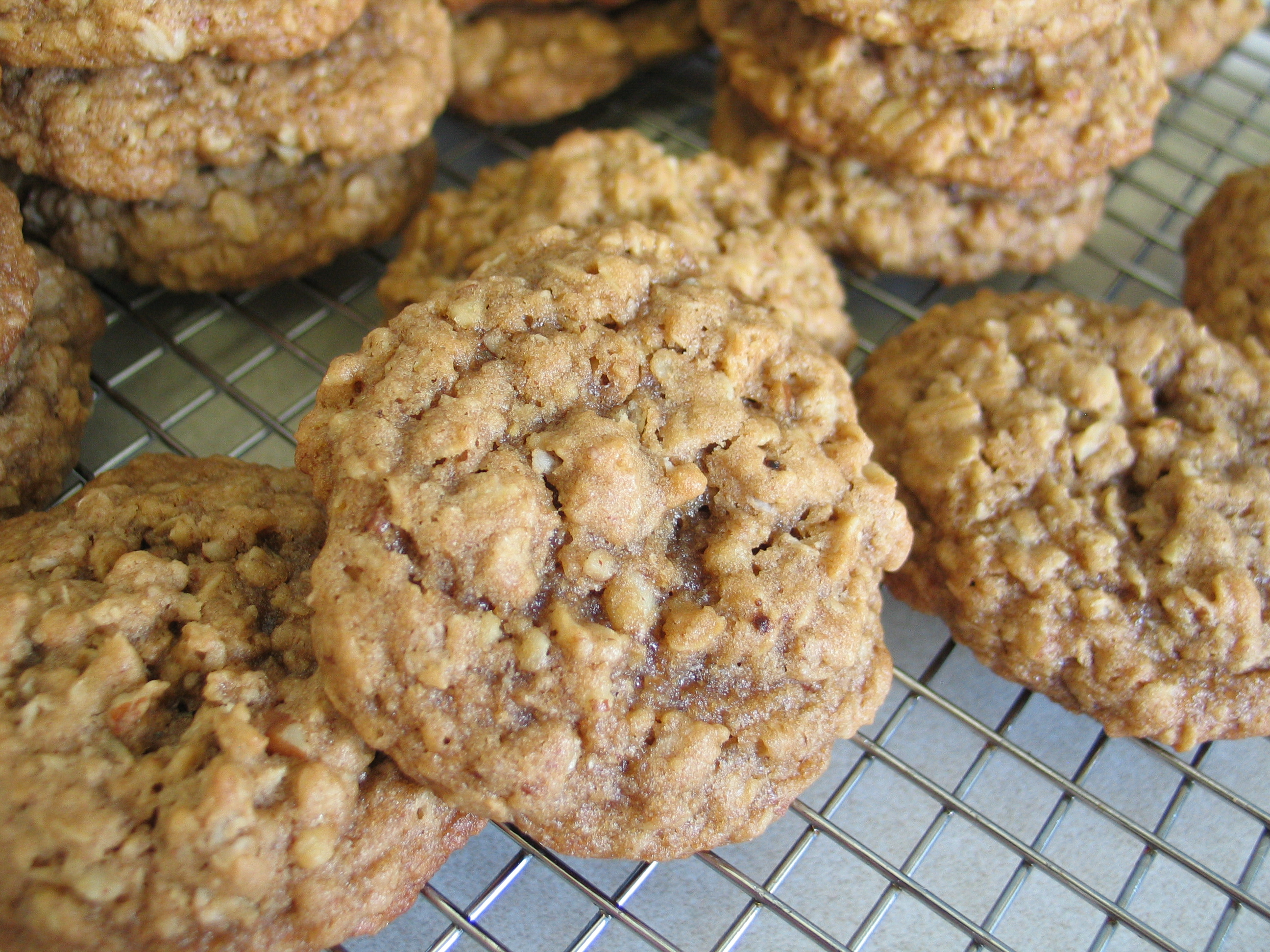 Brown Sugar Oatmeal Cookies