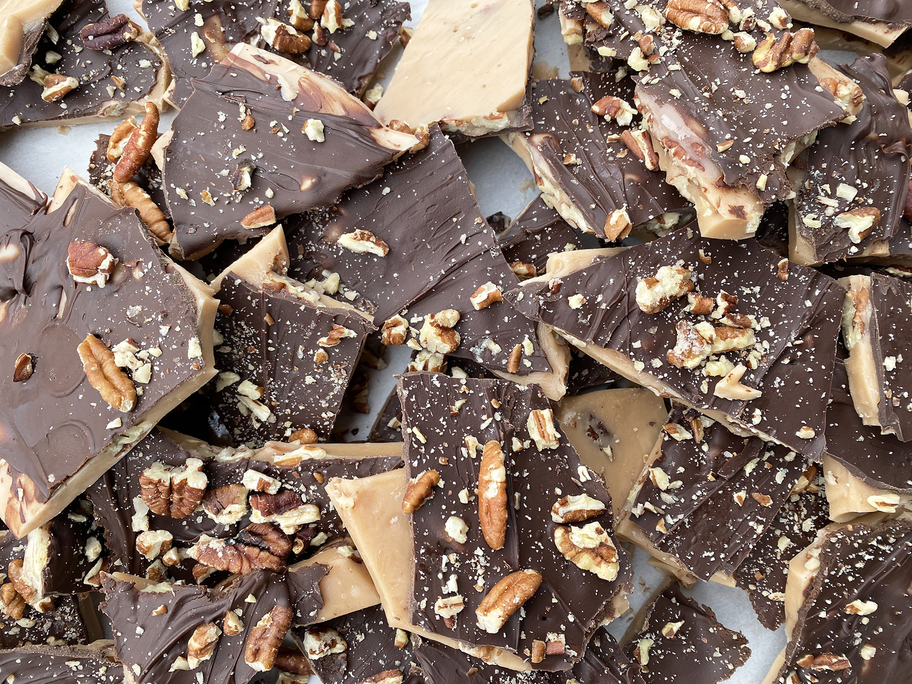Toasted Pecan Toffee