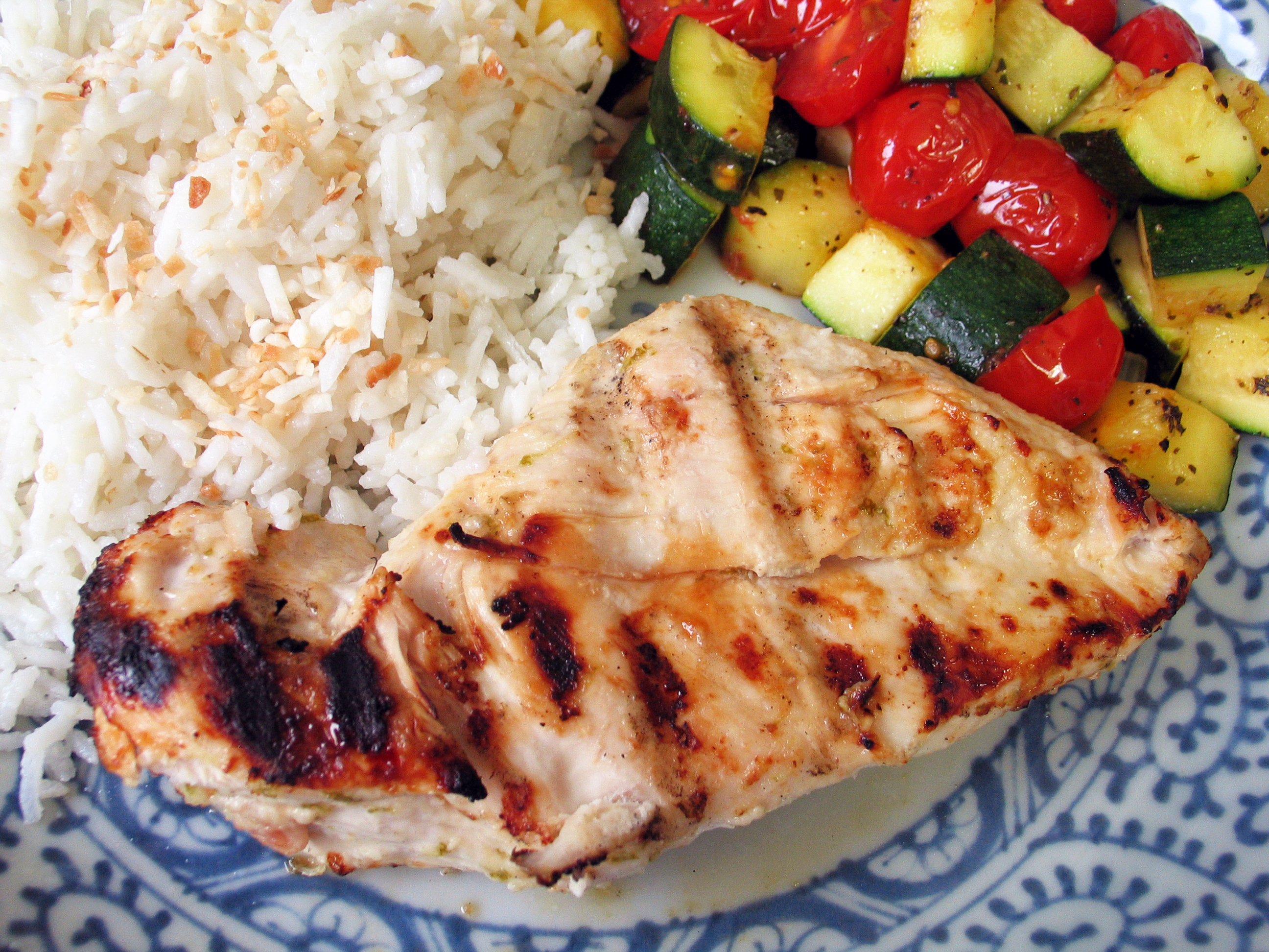 Coconut Chicken (Marinade)
