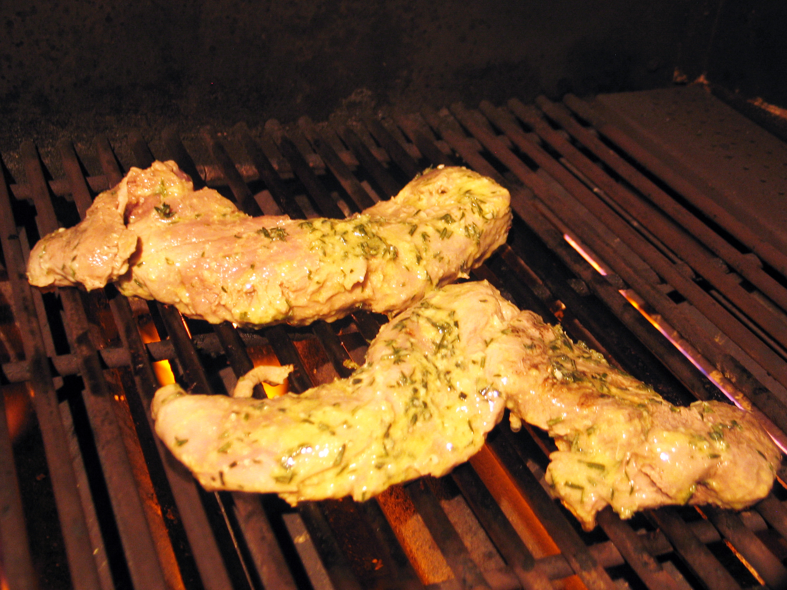 Herb-Marinated Pork Tenderloins