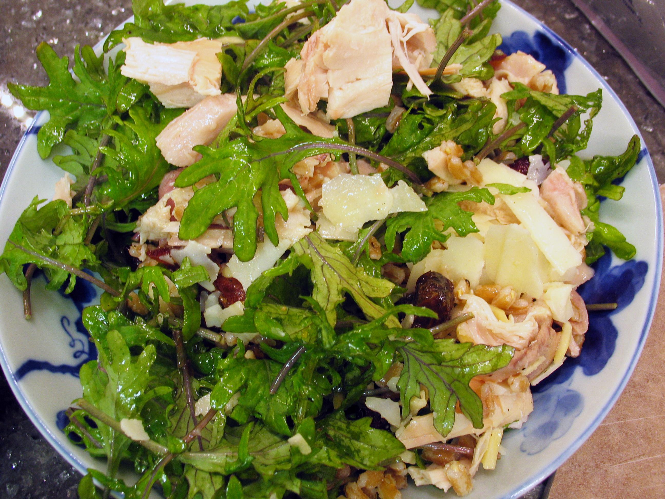 Chicken-Farro Salad