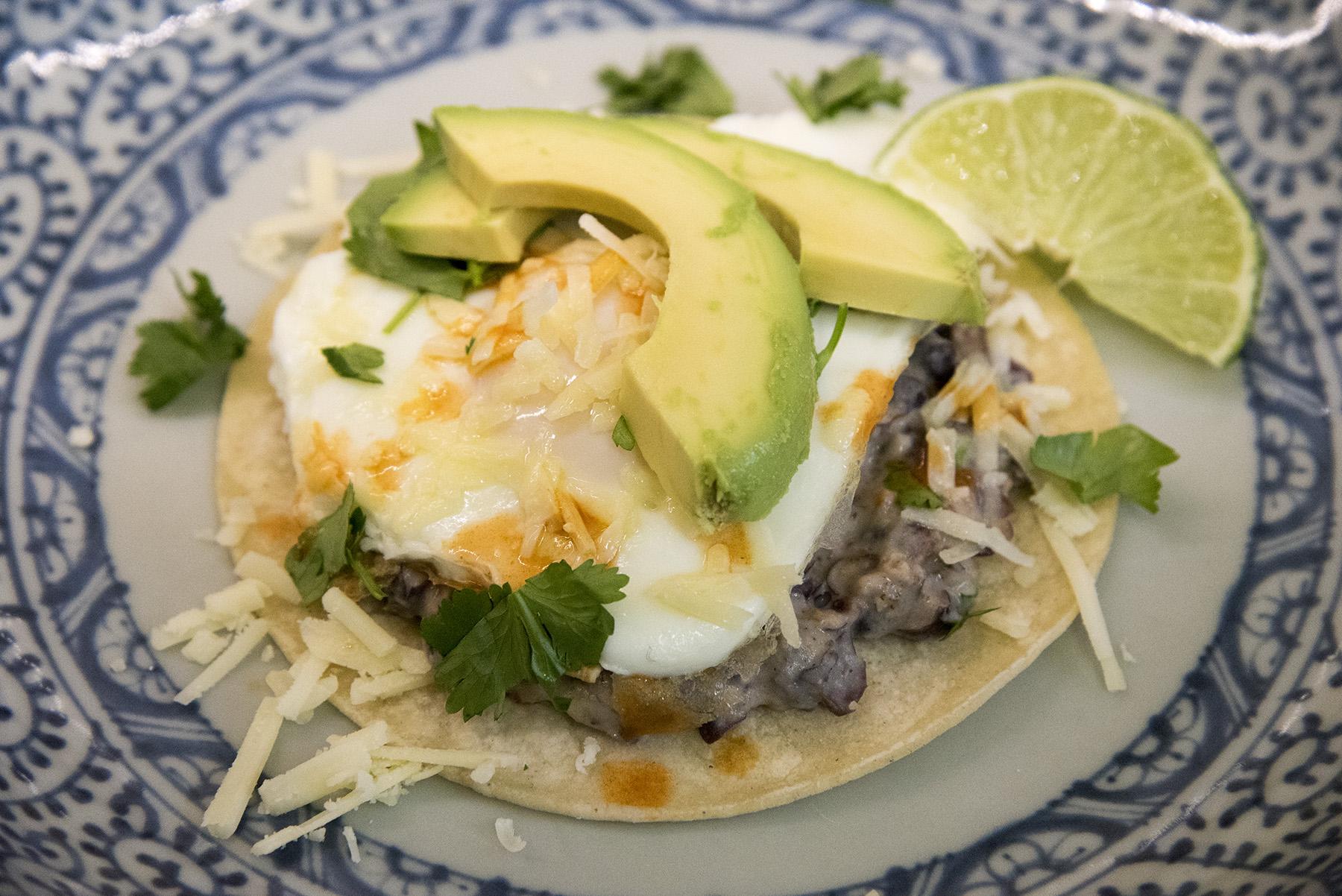 Ranchero Breakfast Tostadas
