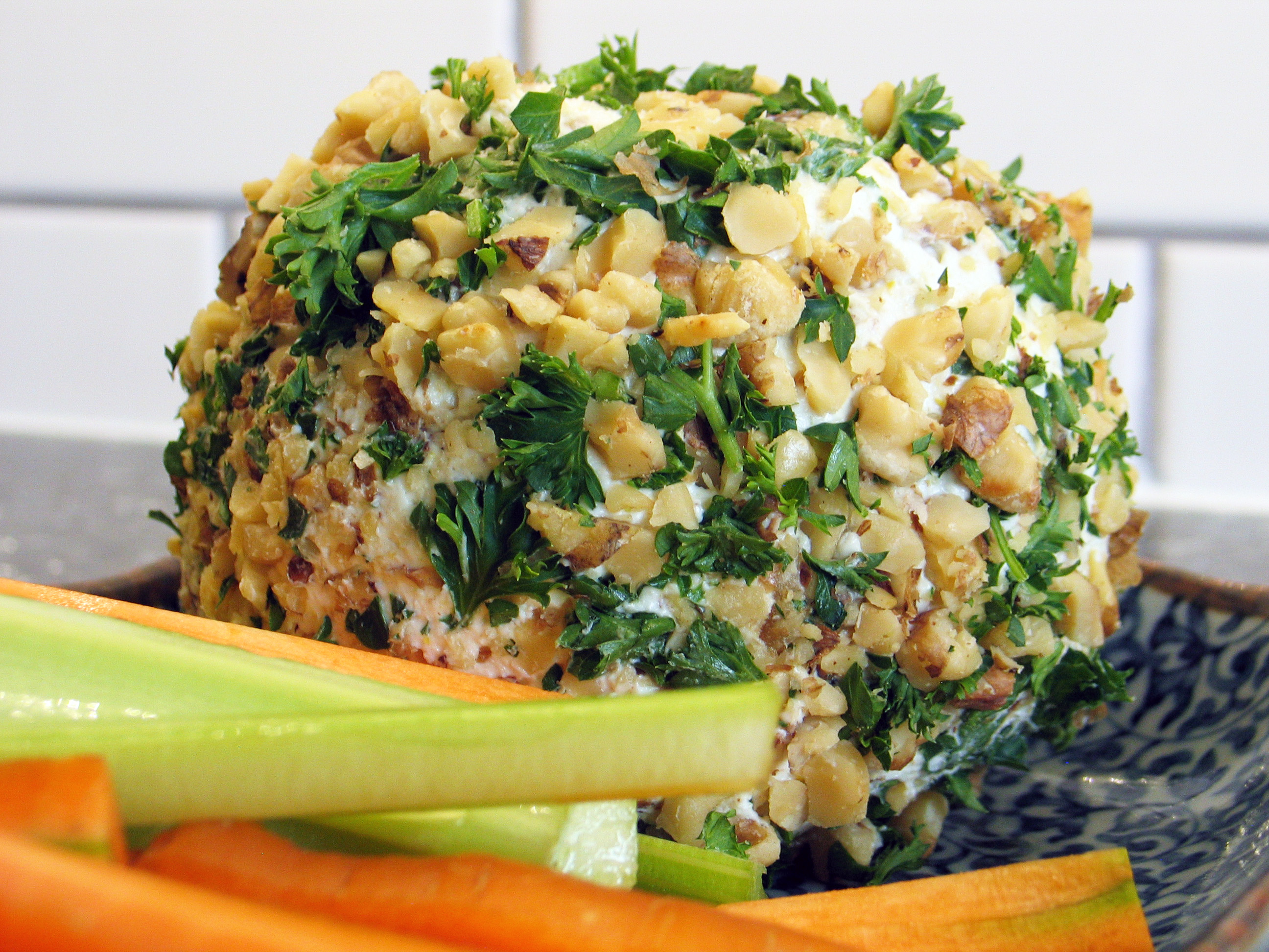 Date and Blue Cheese Ball