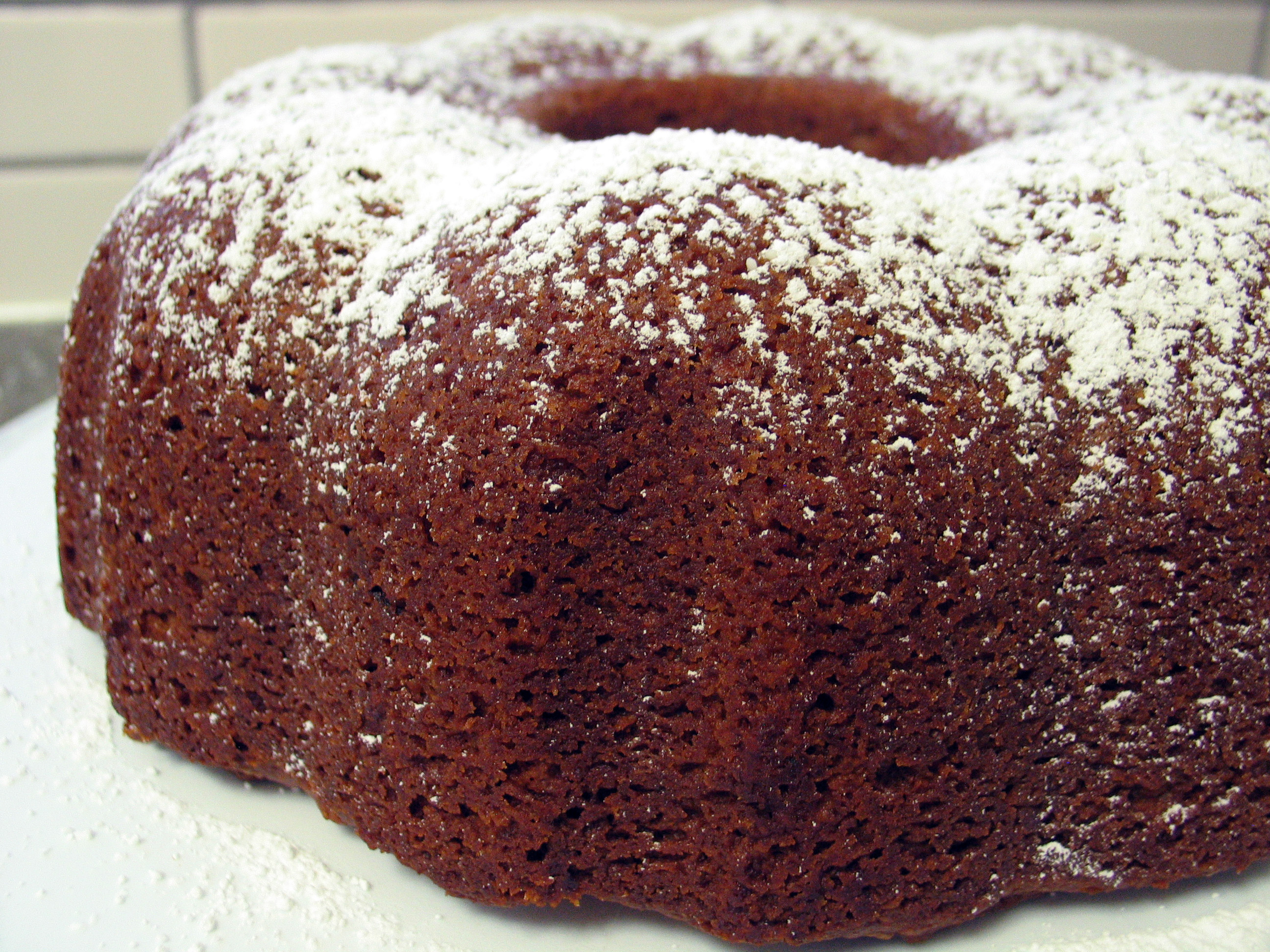 Honey Date Bundt Cake