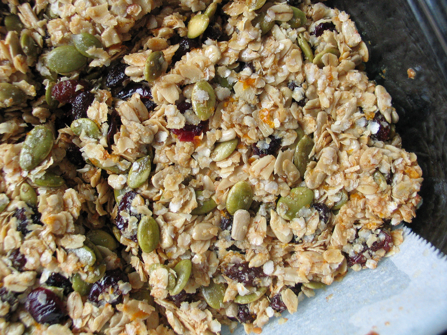 Granola Bars (Seeds, Quinoa and Orange)