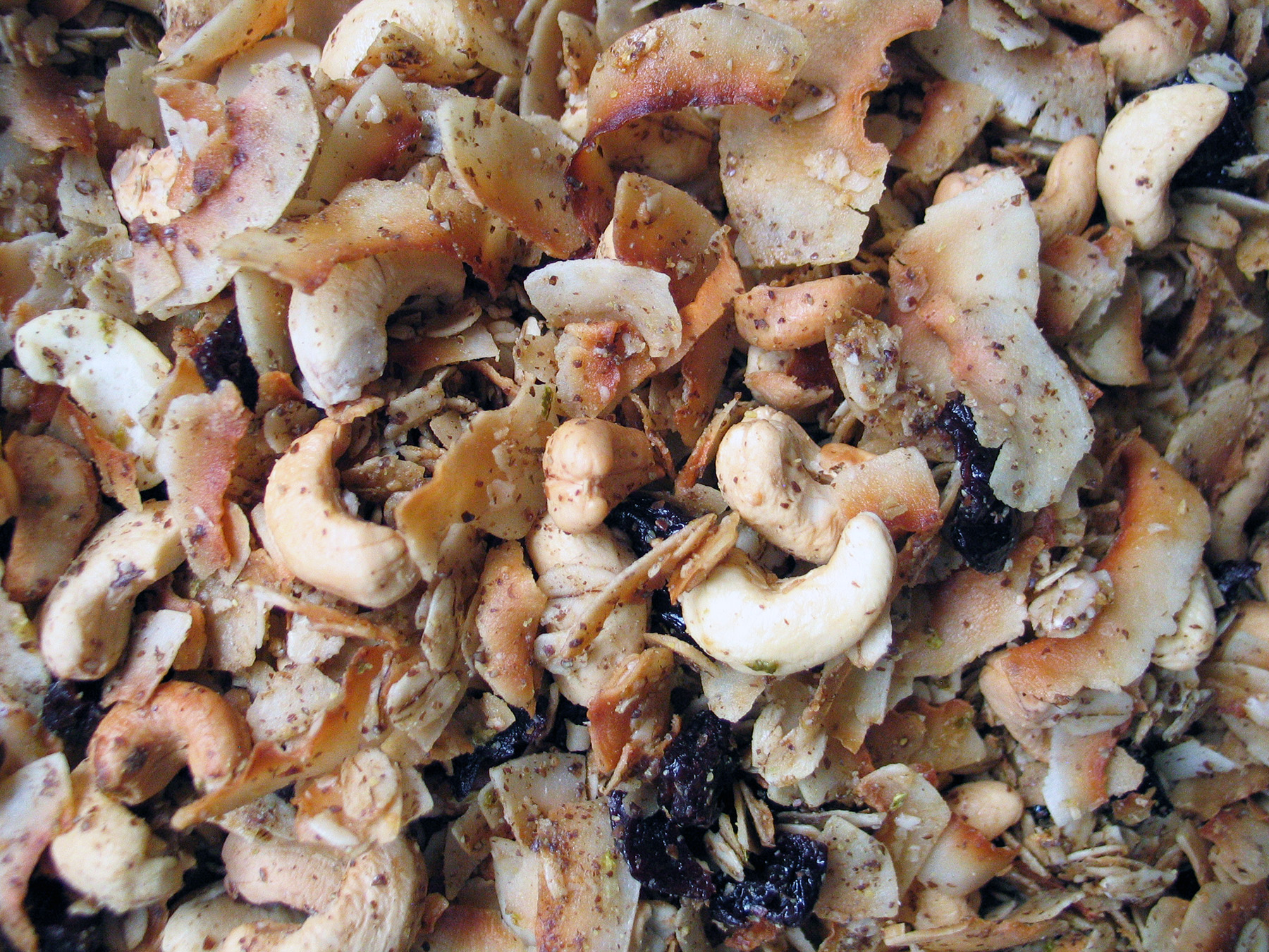 Granola (Coconut, Lime and Cashew)