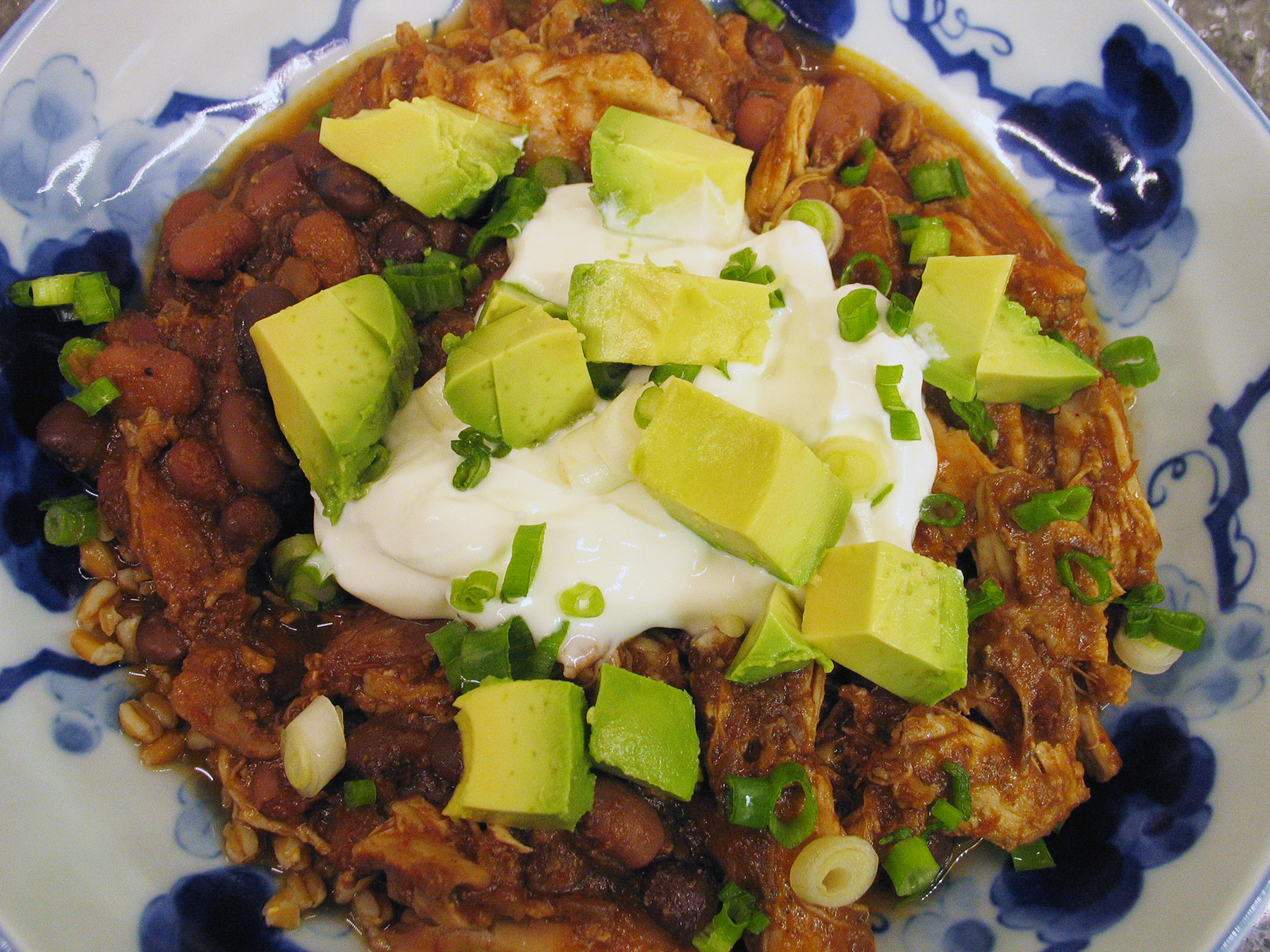 Chicken Chili (Slow Cooker)