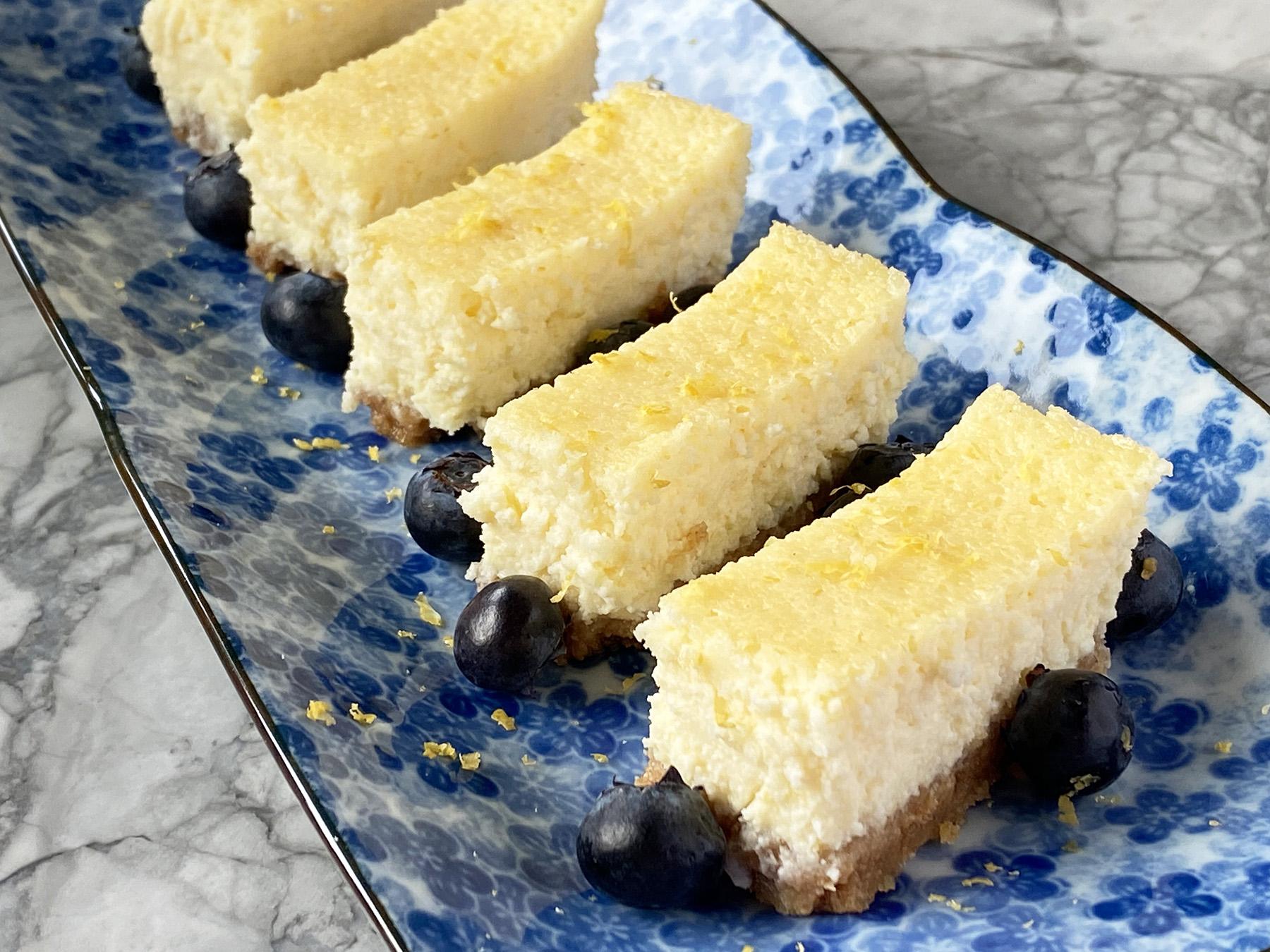 Limoncello Ricotta Cheesecake