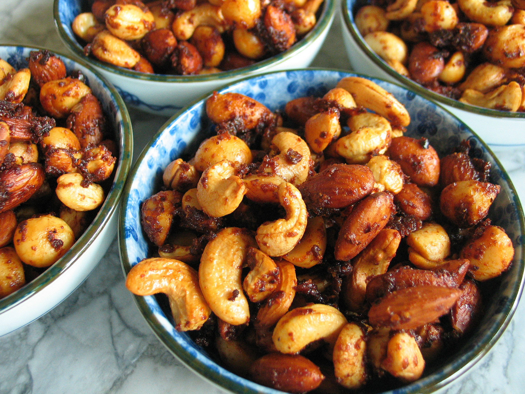 Sweet Spice-Roasted Nuts