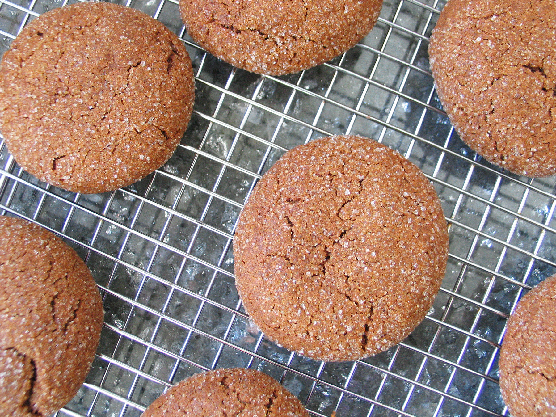 Chewy Molasses Ginger Cookies (Lactose-free)