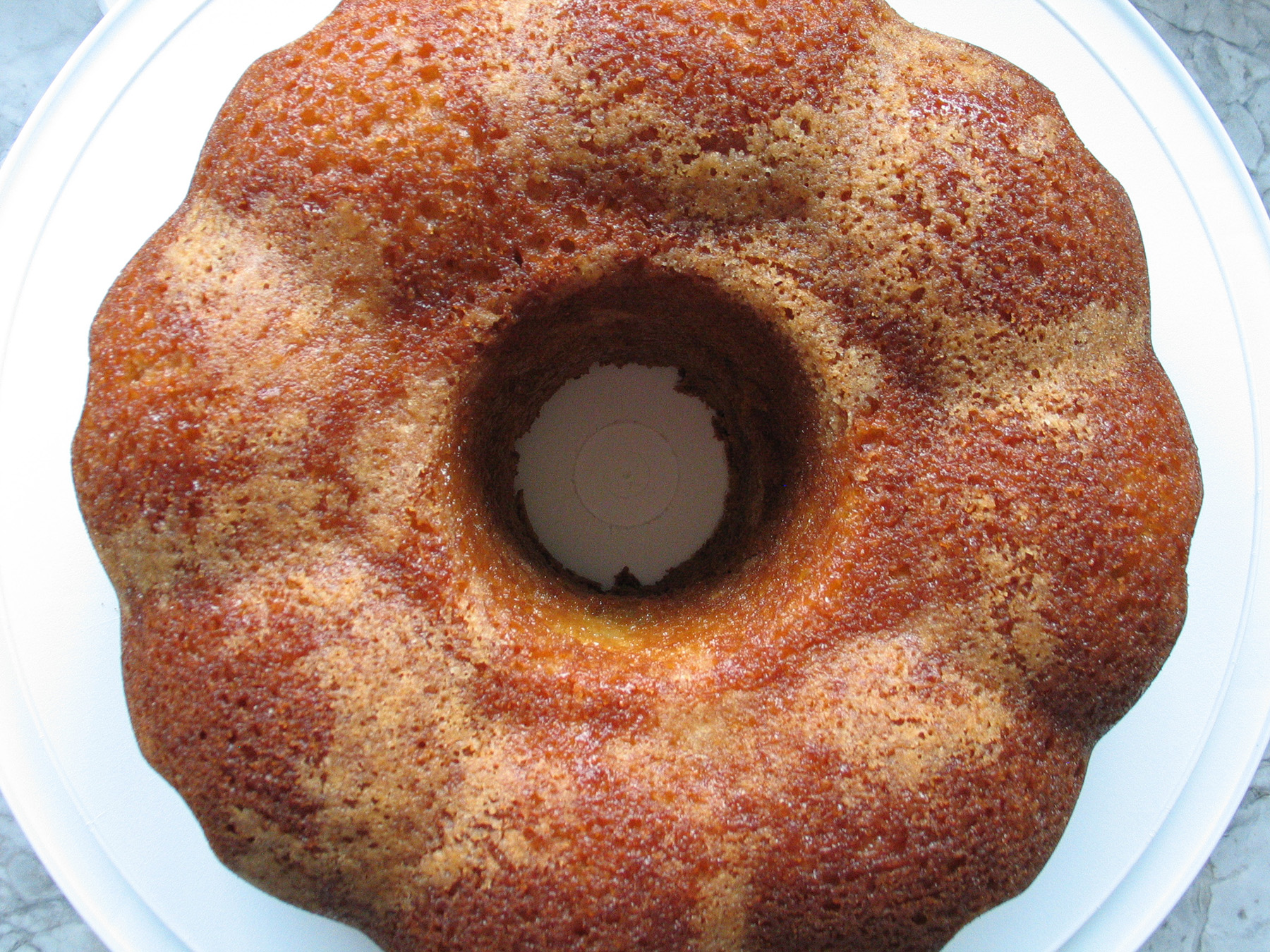 Sour Cream Bundt Pound Cake