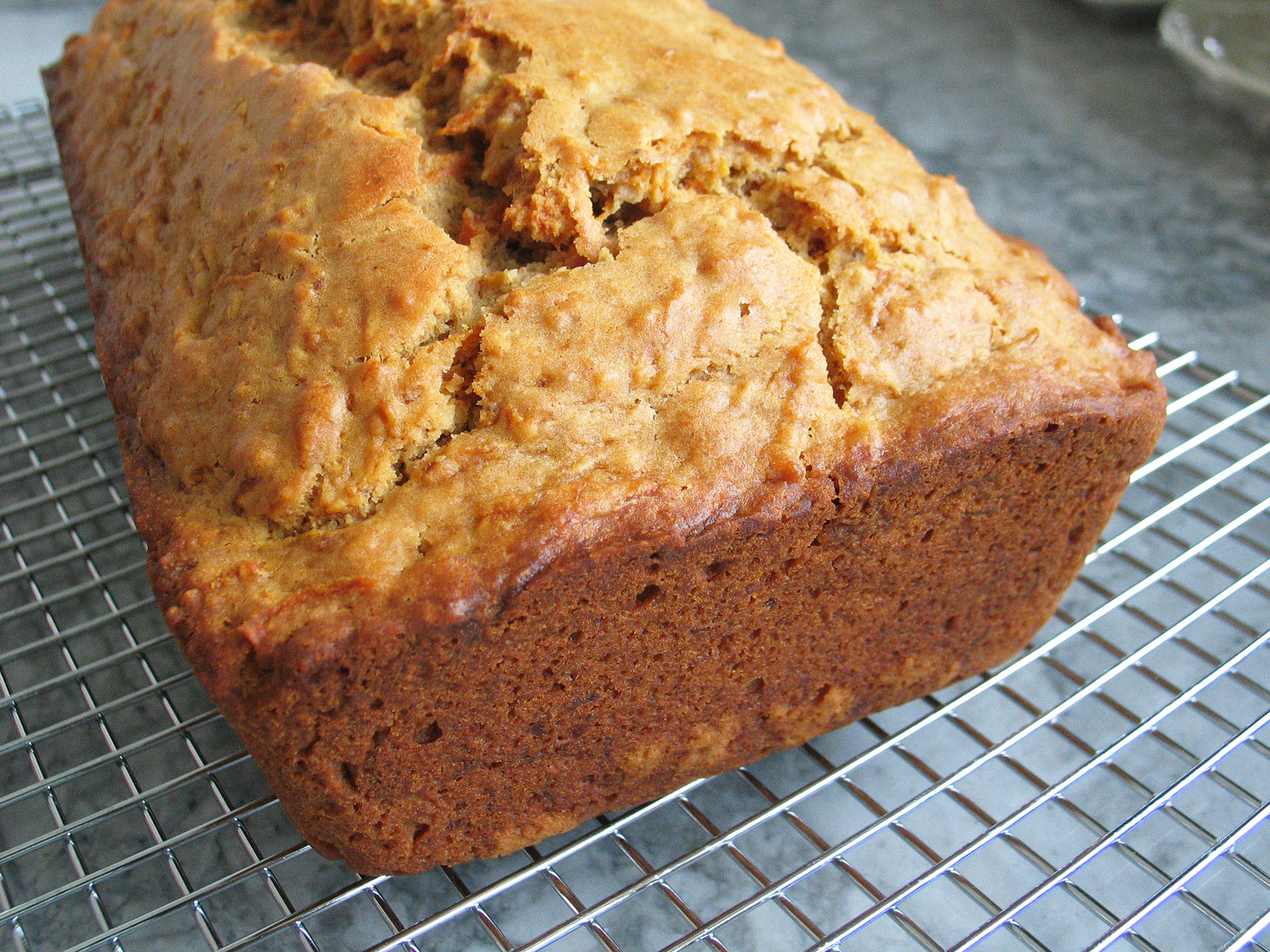Carrot Loaf with Cider and Olive Oil