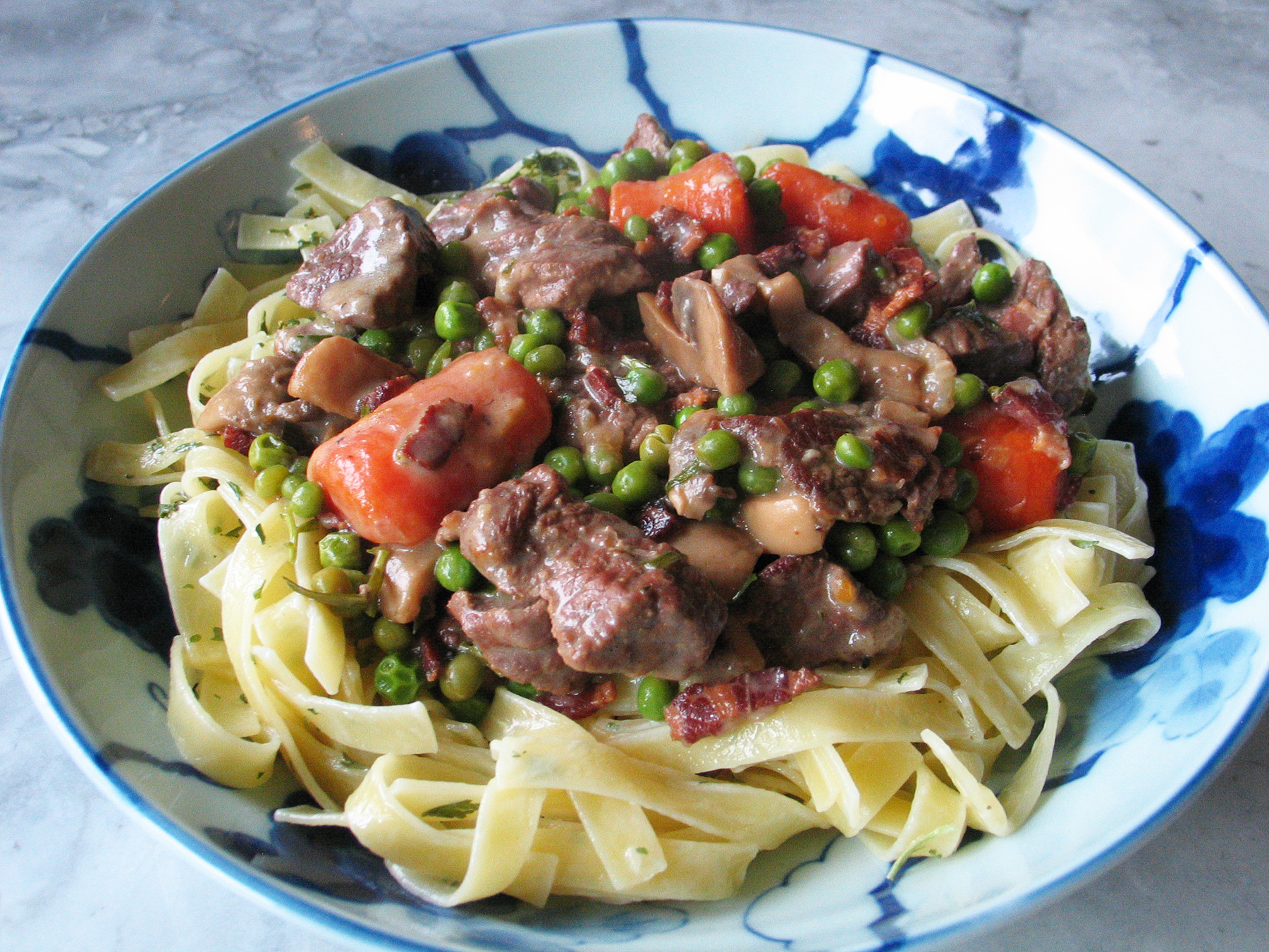 Lamb Stew (with Mushrooms and Sherry)