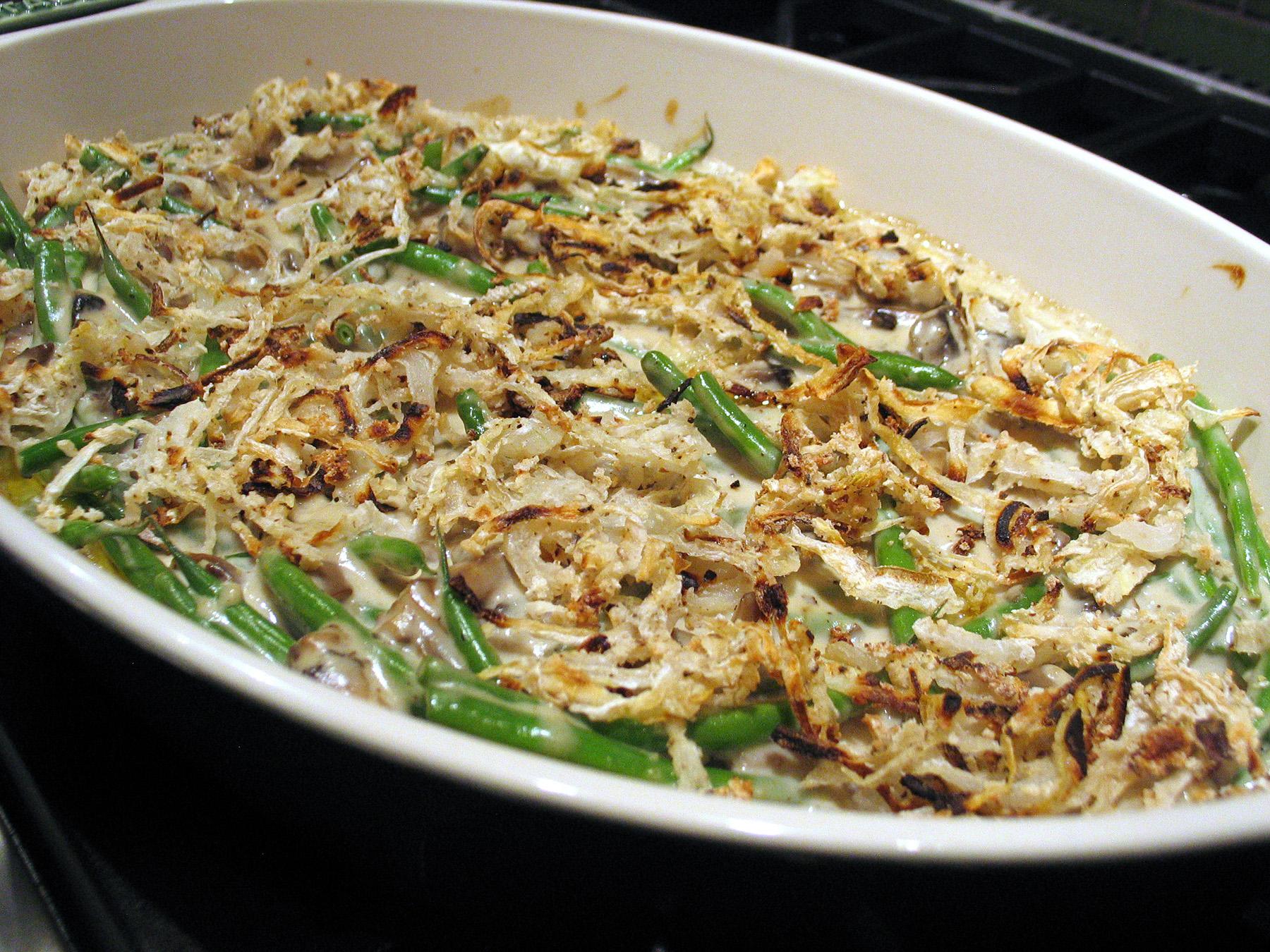 Green Bean Casserole (with Crispy Onions)
