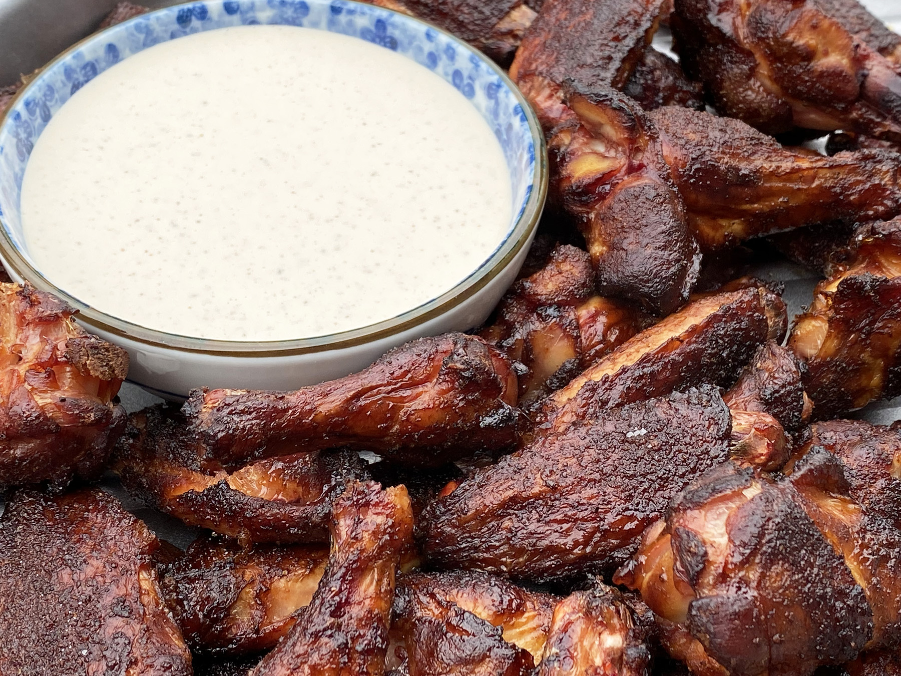 Alabama White Sauce (and Smoked Chicken Wings)