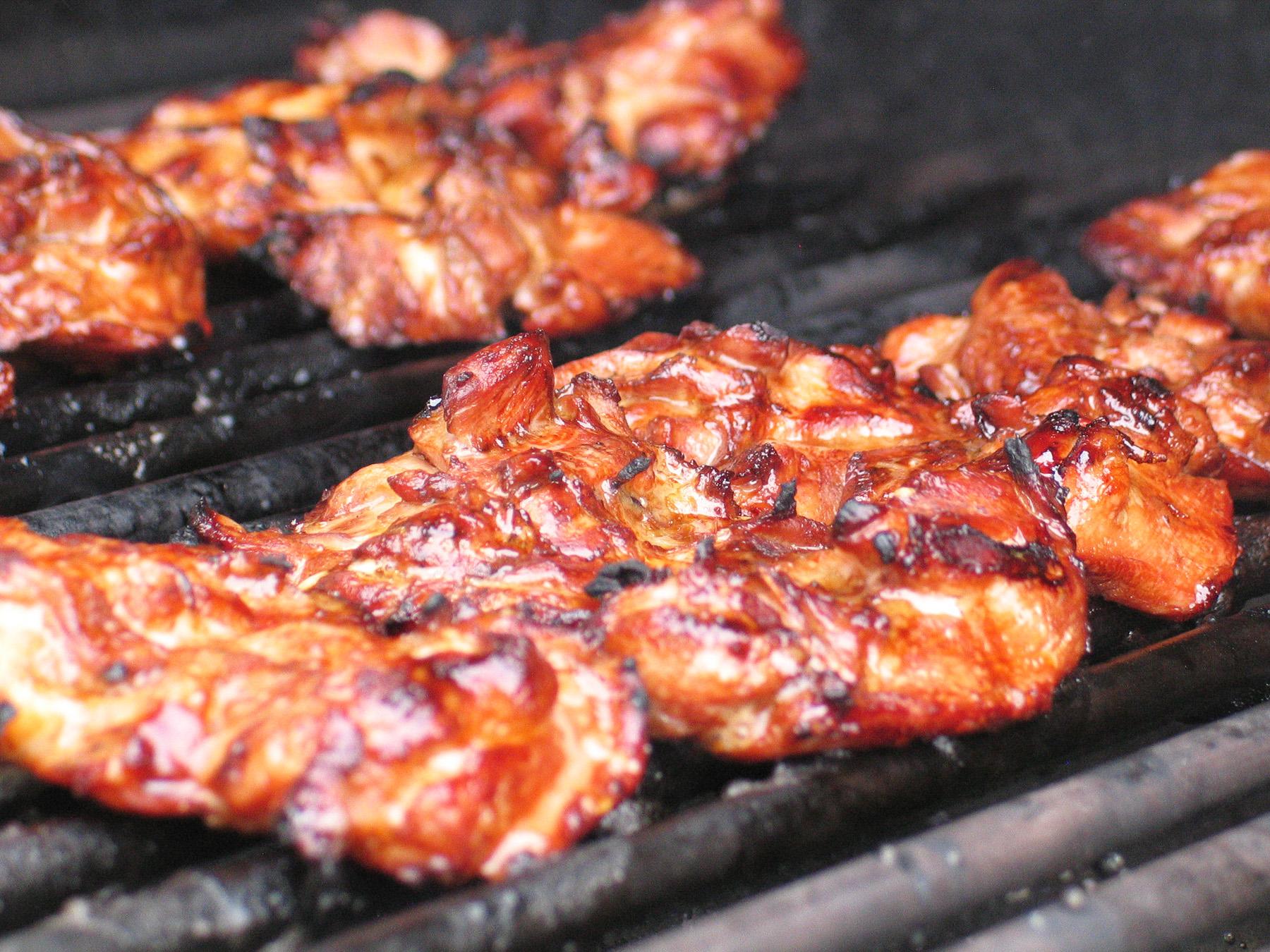 Korean Chicken (with Gochujang Mayo)