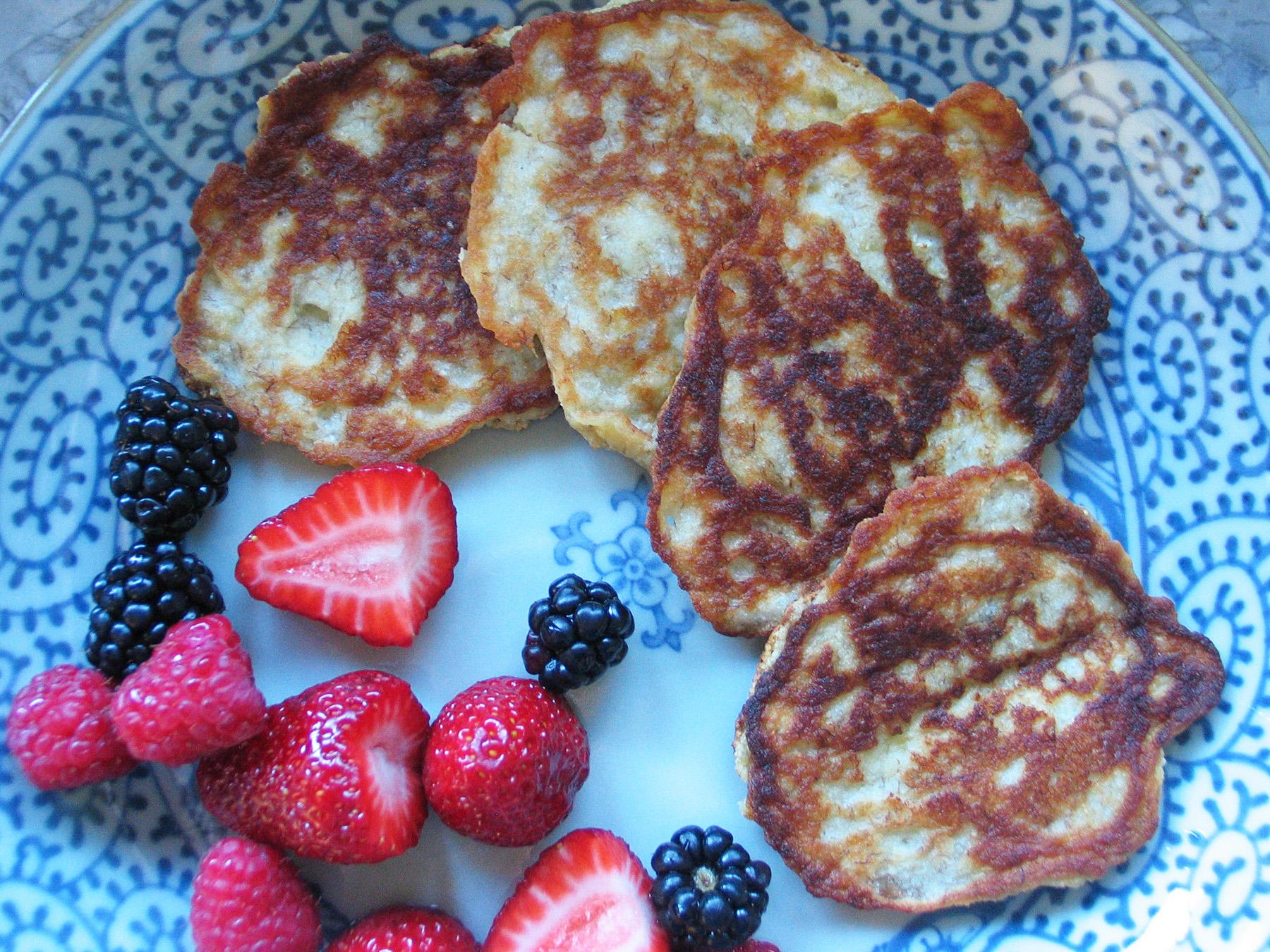 Banana Egg Pancakes (Gluten-free)