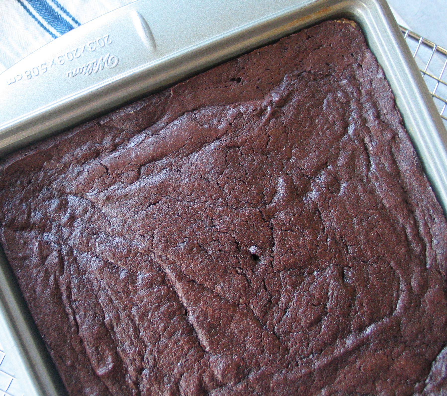 Alton's Cocoa Brownies