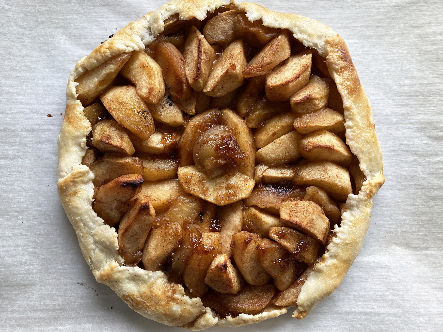 Caramelized Apple Galette
