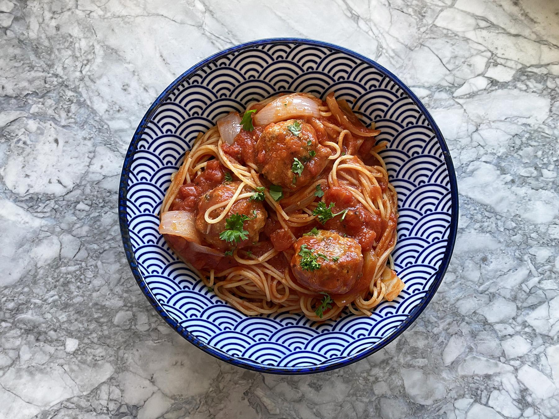 Perfect Spaghetti and Meatballs