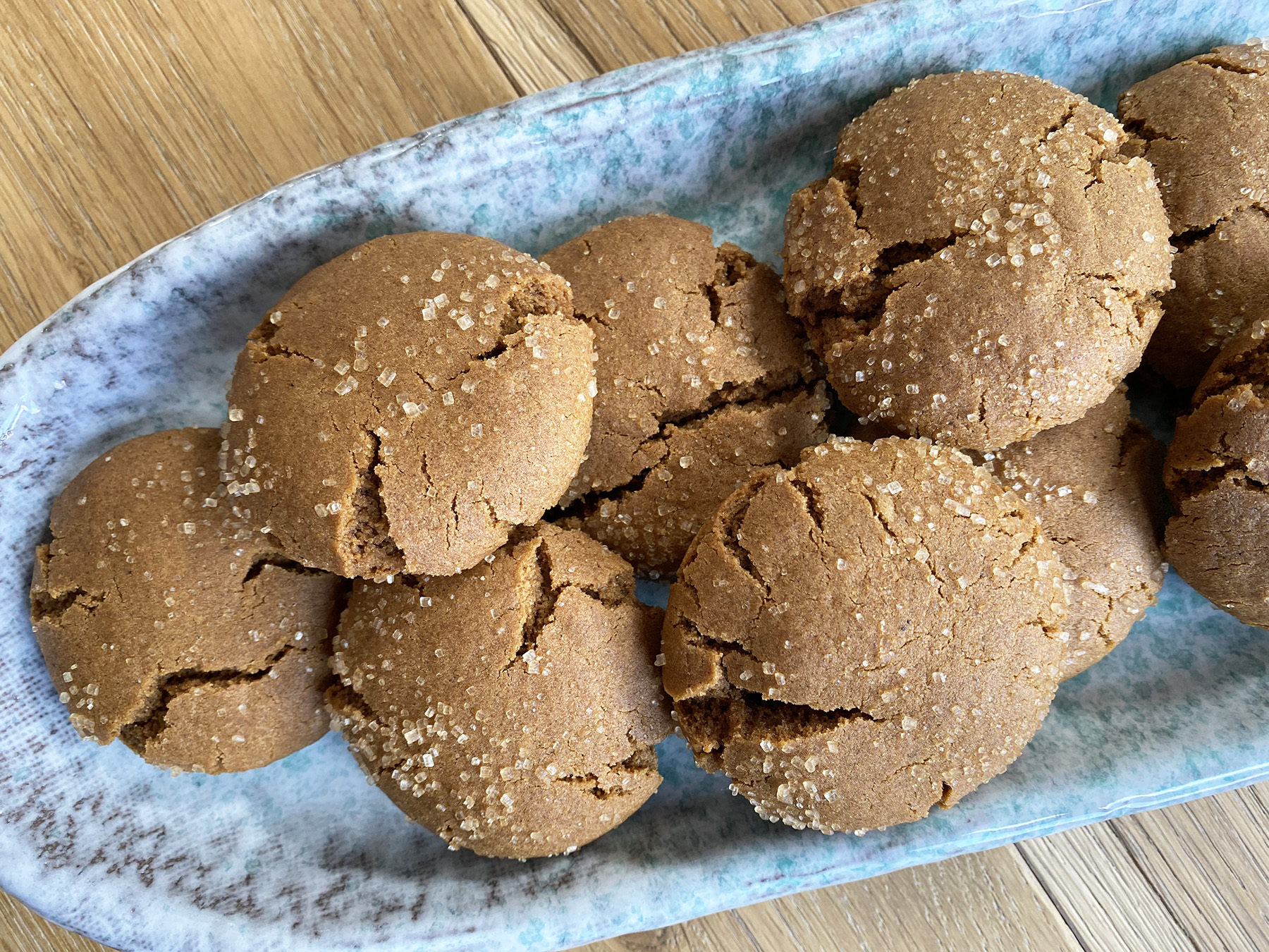Brown Butter Molasses Cookies