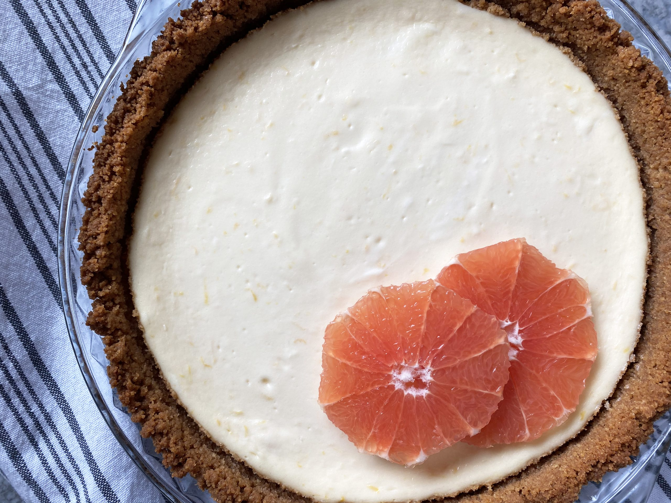 Citrusy (Grapefruit!) Cheesecake