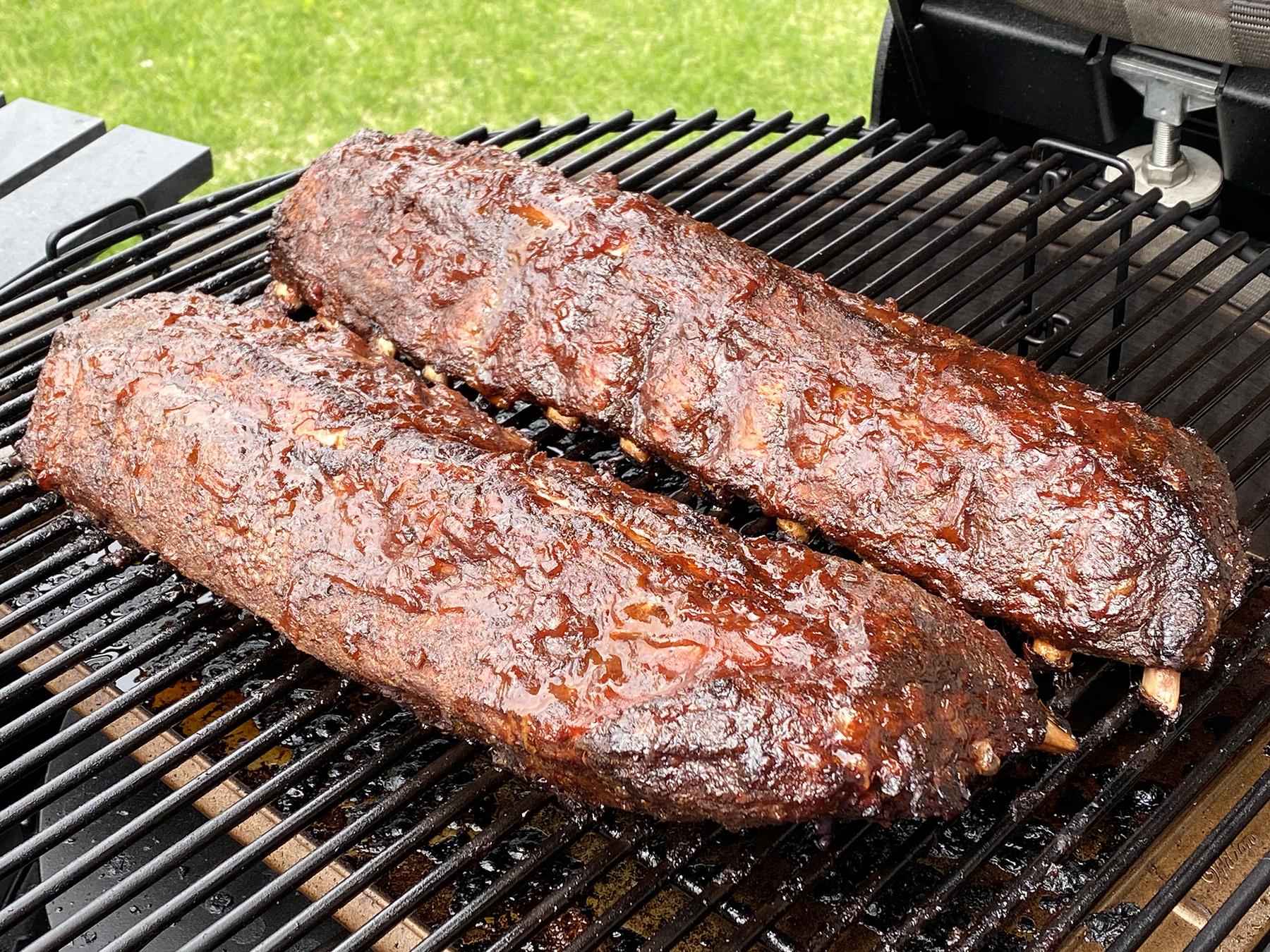 Brock's Smoked Pork Back Ribs