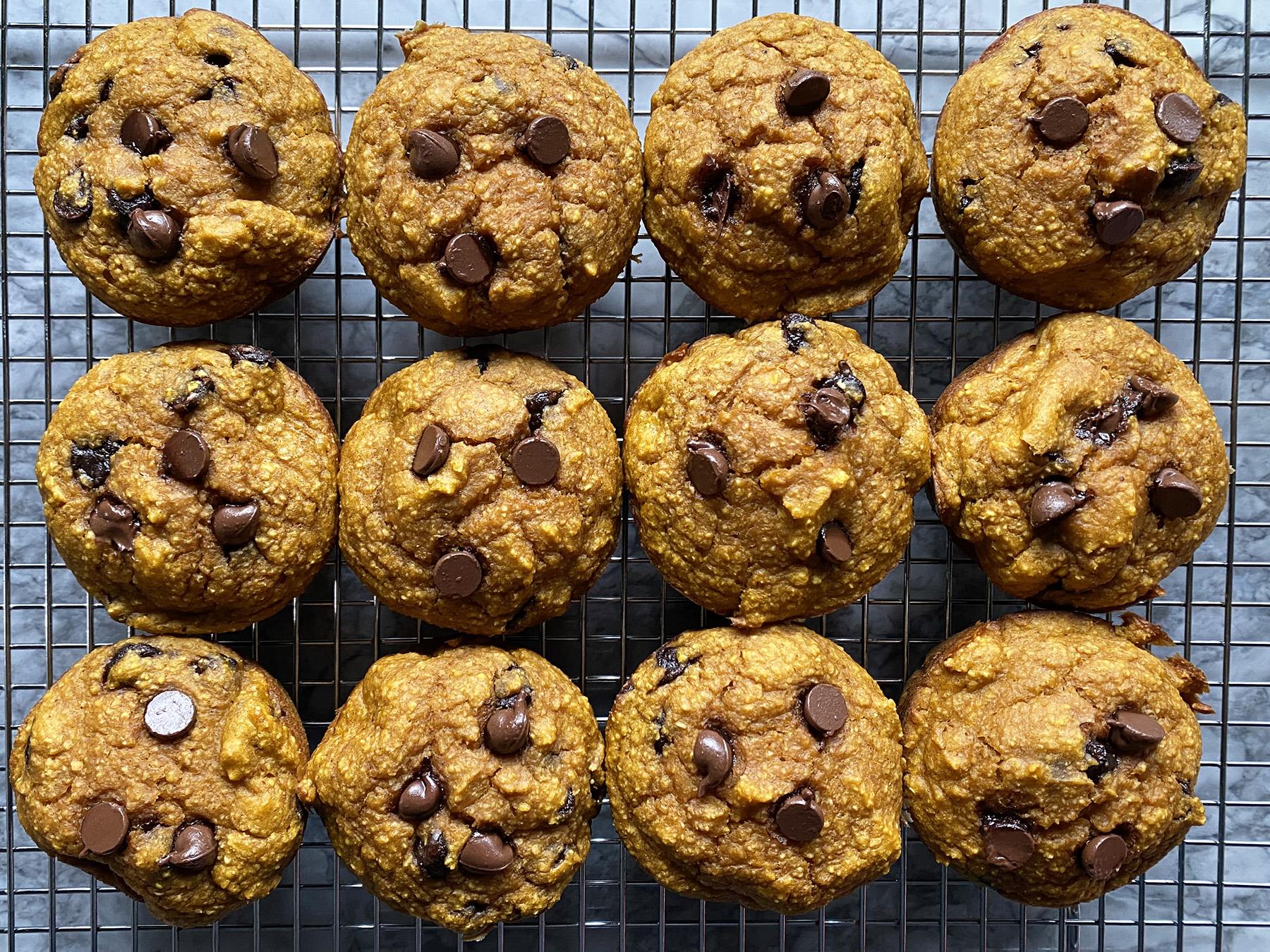 Pumpkin (Blender) Muffins