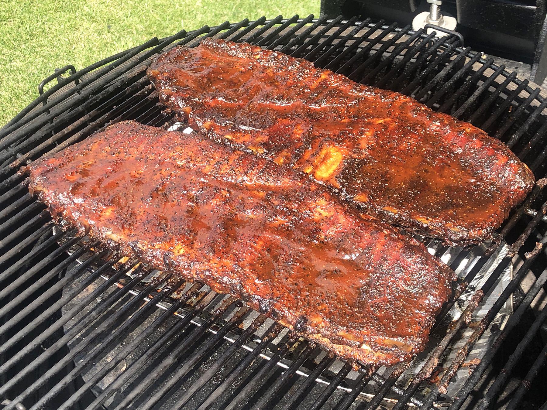 Brock's Smoked Pork Side Ribs