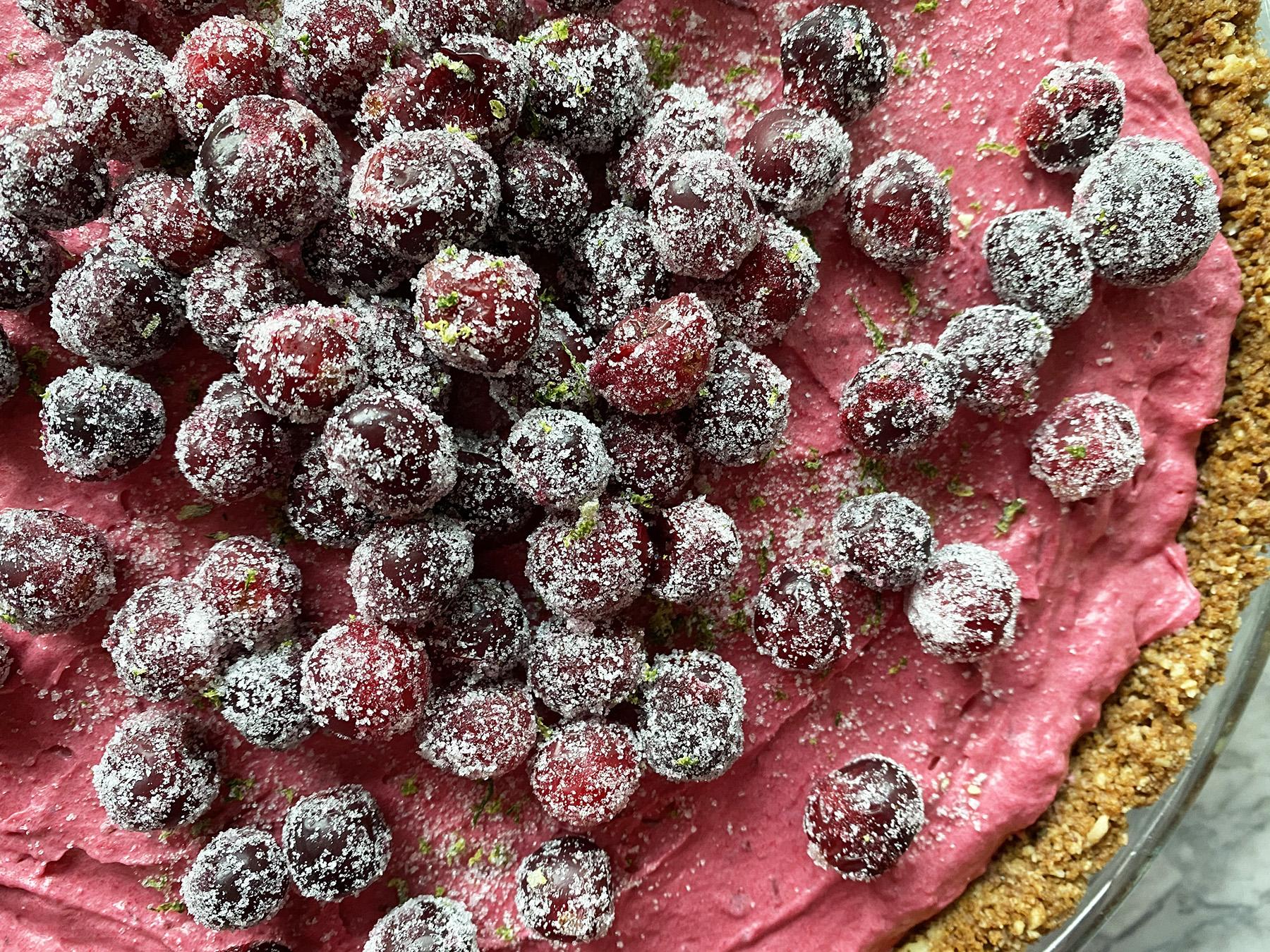 Cranberry-Lime Pie