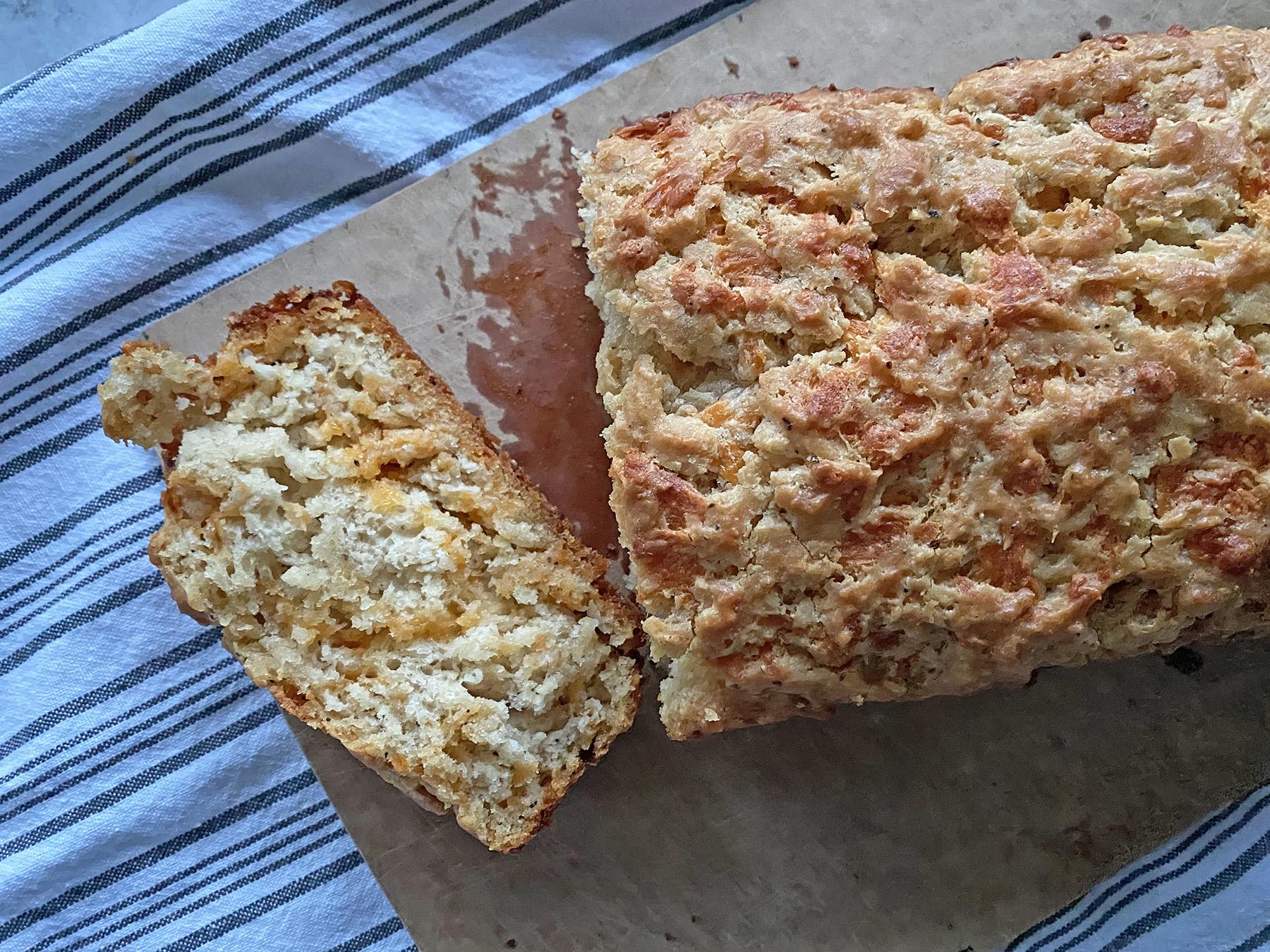 Cheesy Beer Bread
