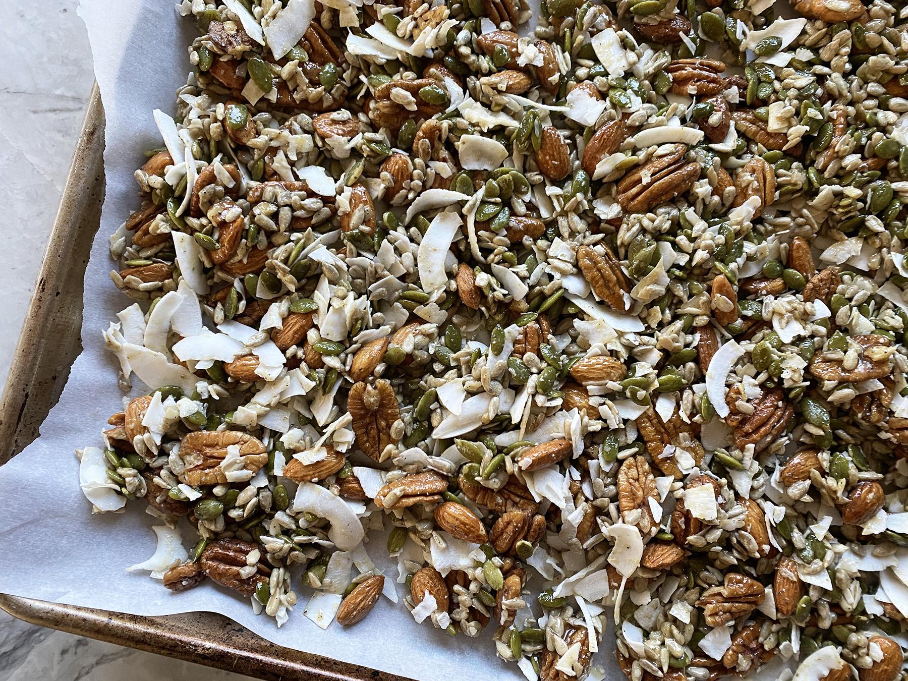 Granola (Gluten-Free Tahini)