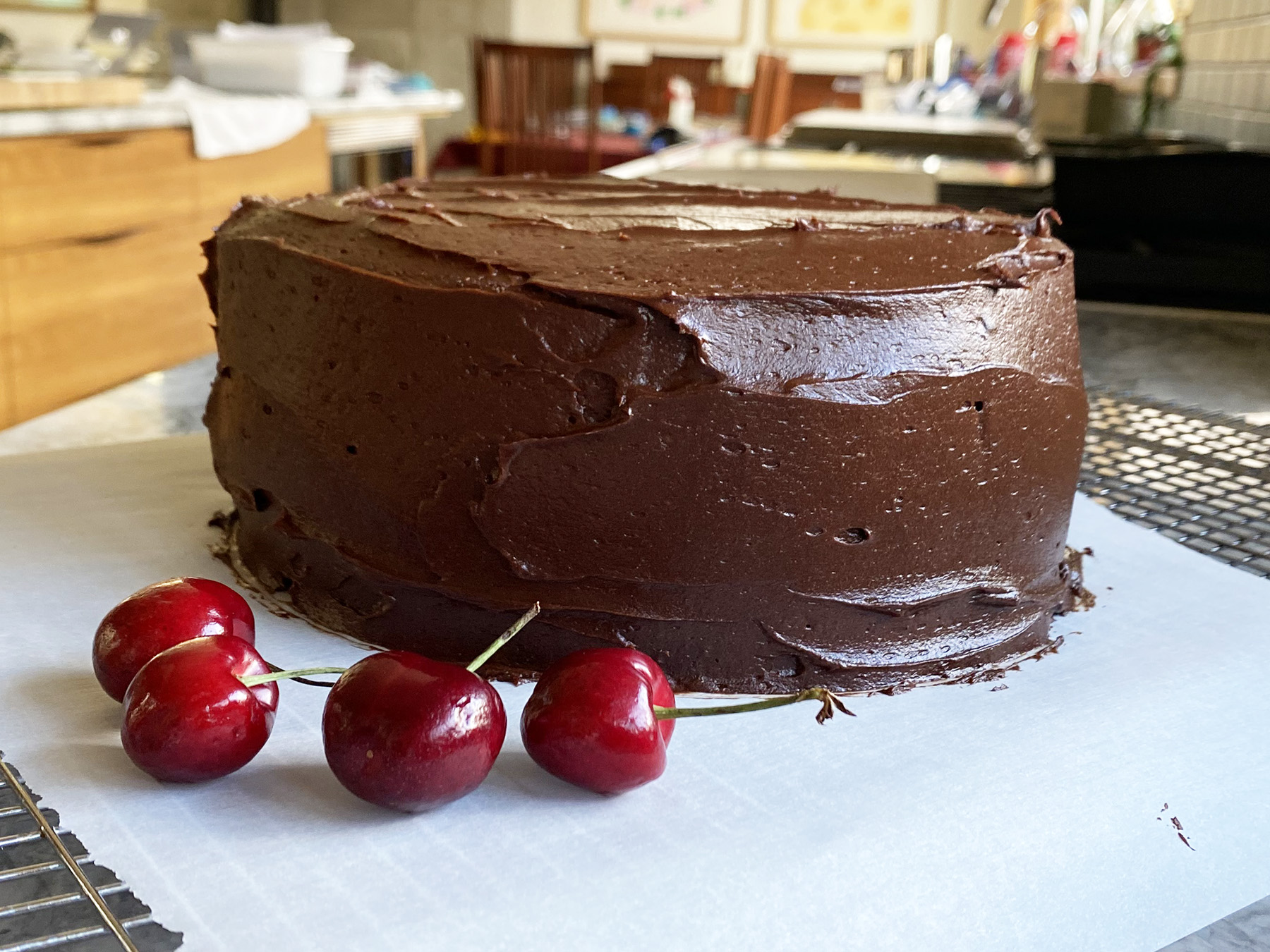 Old-Fashioned Chocolate Cake (8-inch)
